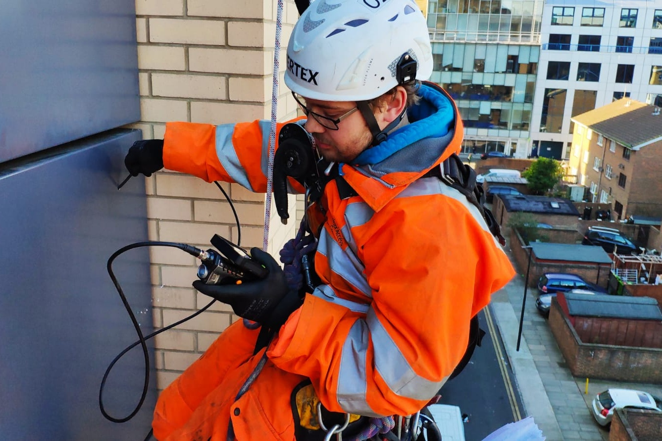 Borescope Inspection of cavity fire breaks