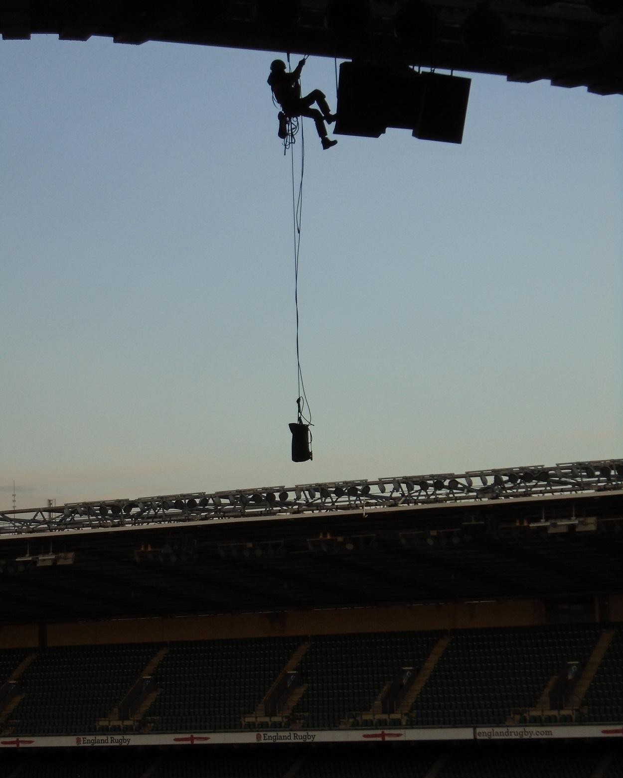 Rope Access Stadium Speaker Works