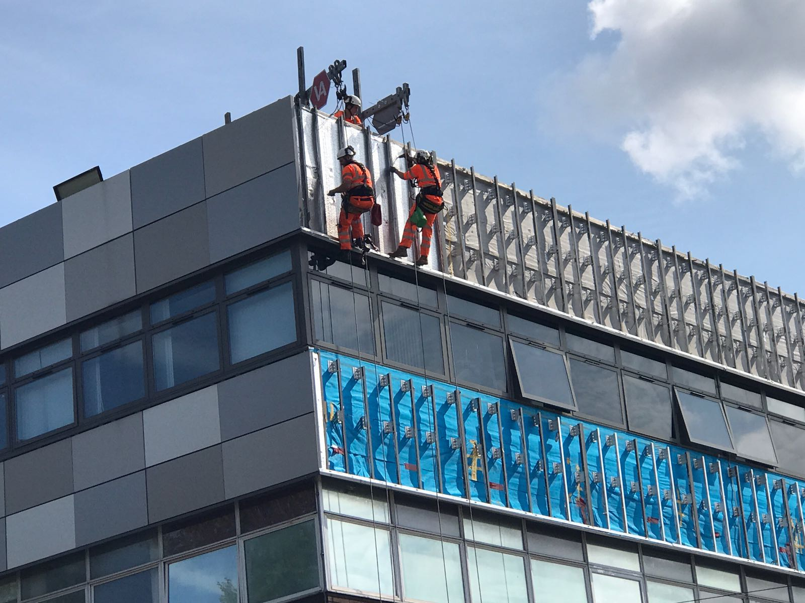 Cladding Removal Works - Sheffield