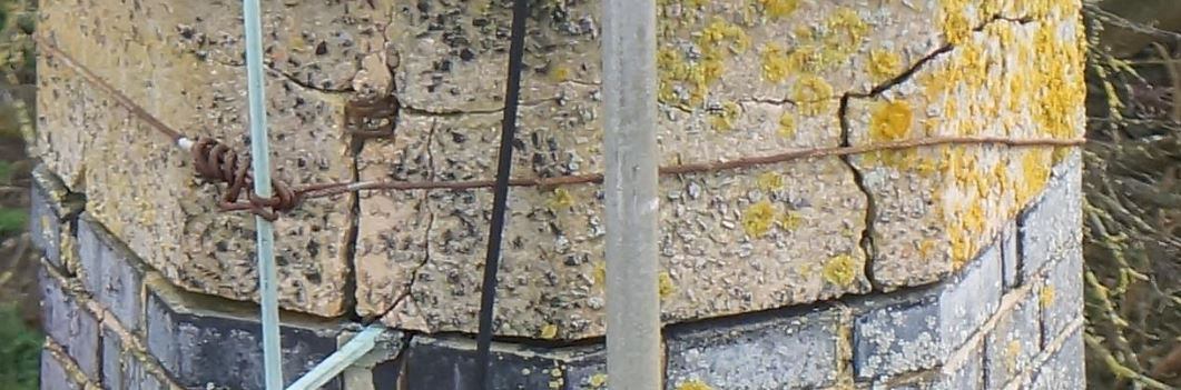 Drone Survey detail on Chimney and Lightning Protection