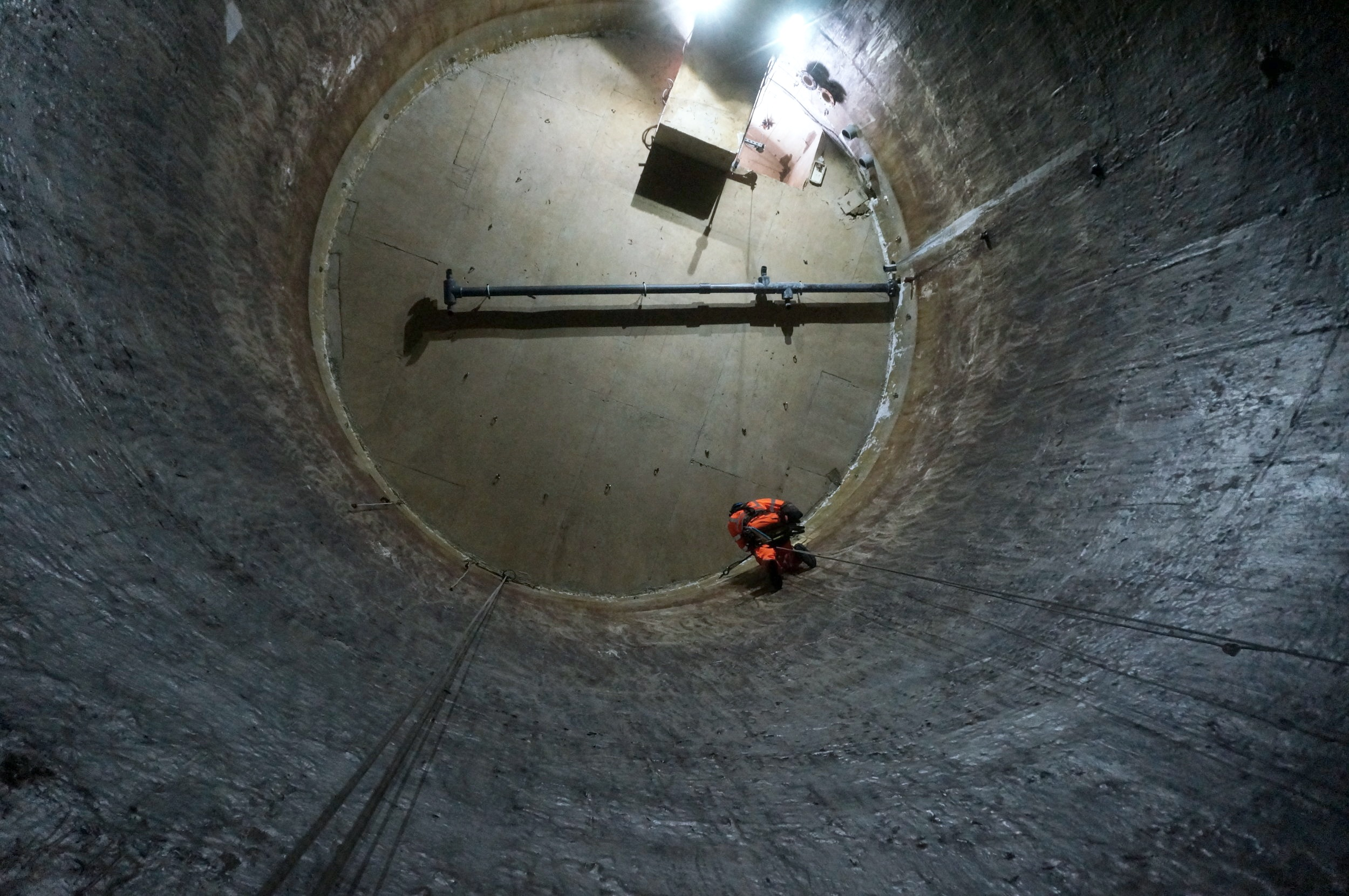 Confined Space Rope Access