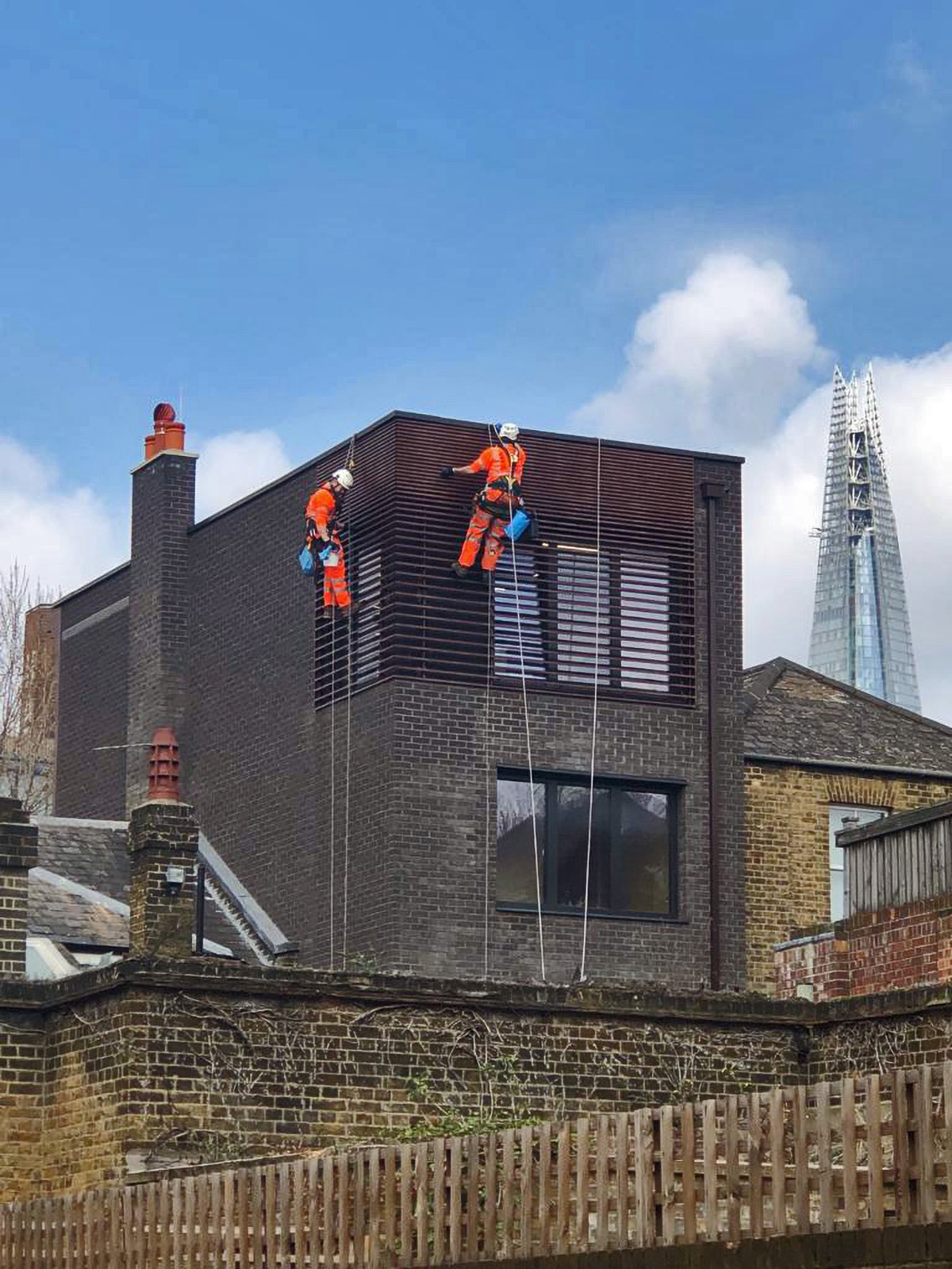 Brise Soleil cleaning - London