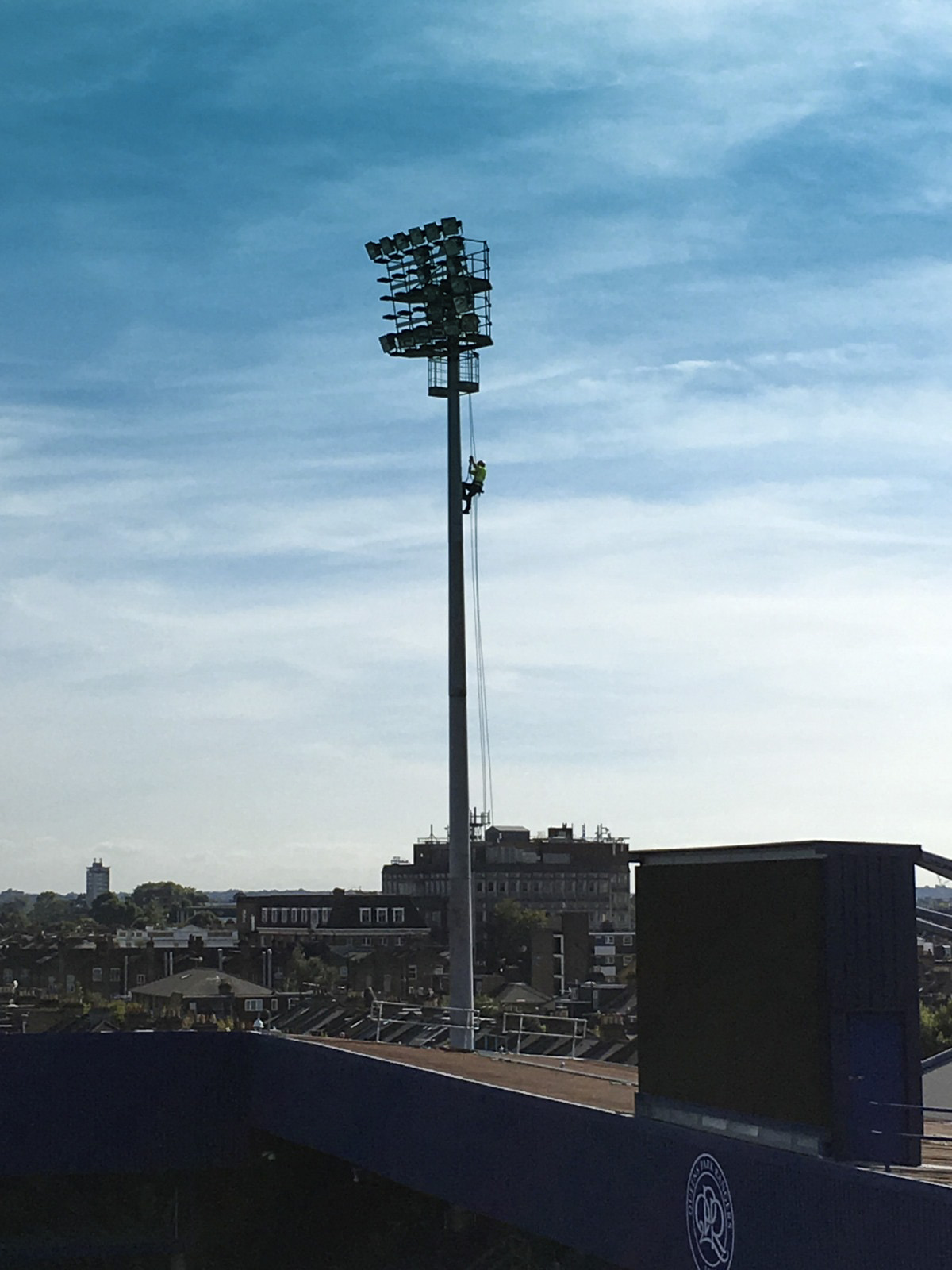 Queens Park Rangers Lighting Tower