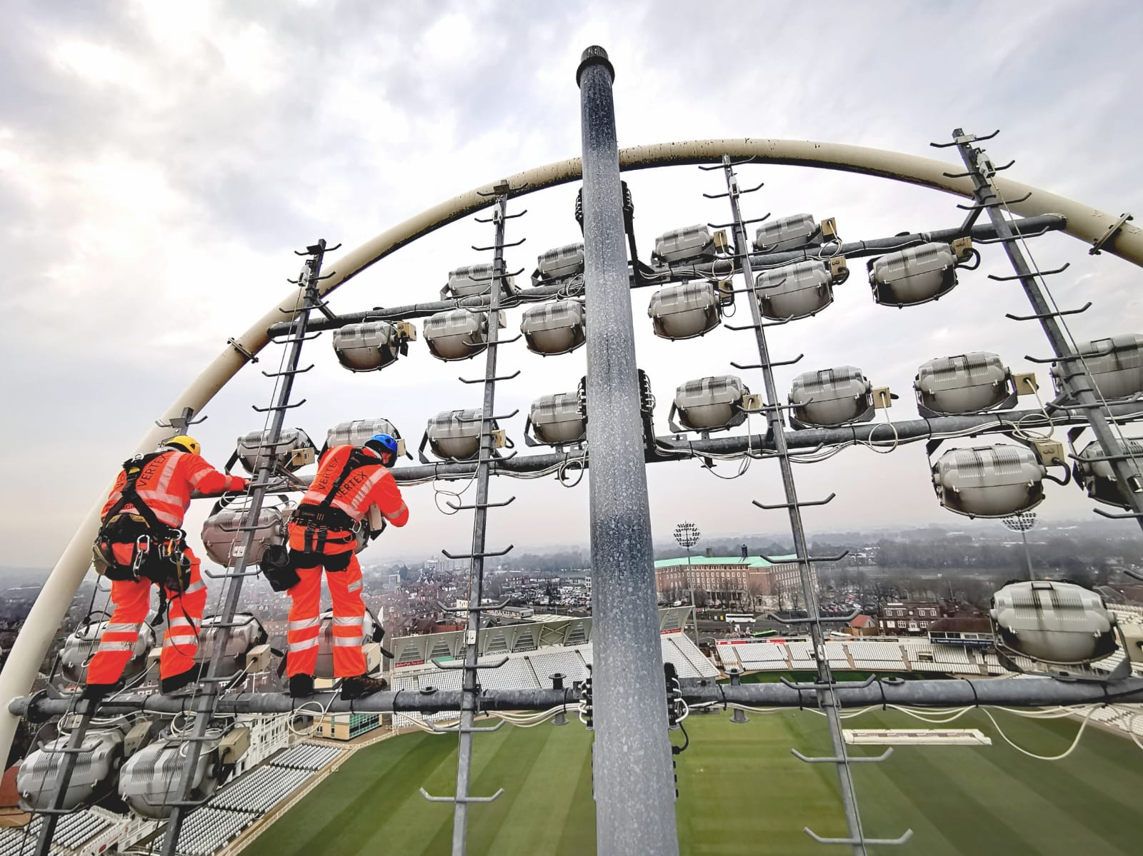 Lighting Tower Maintenance - Trent Bridge
