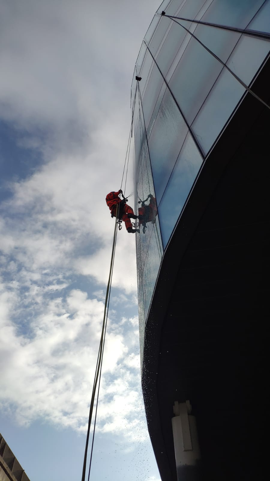 Hose Water Testing - Curtain Wall