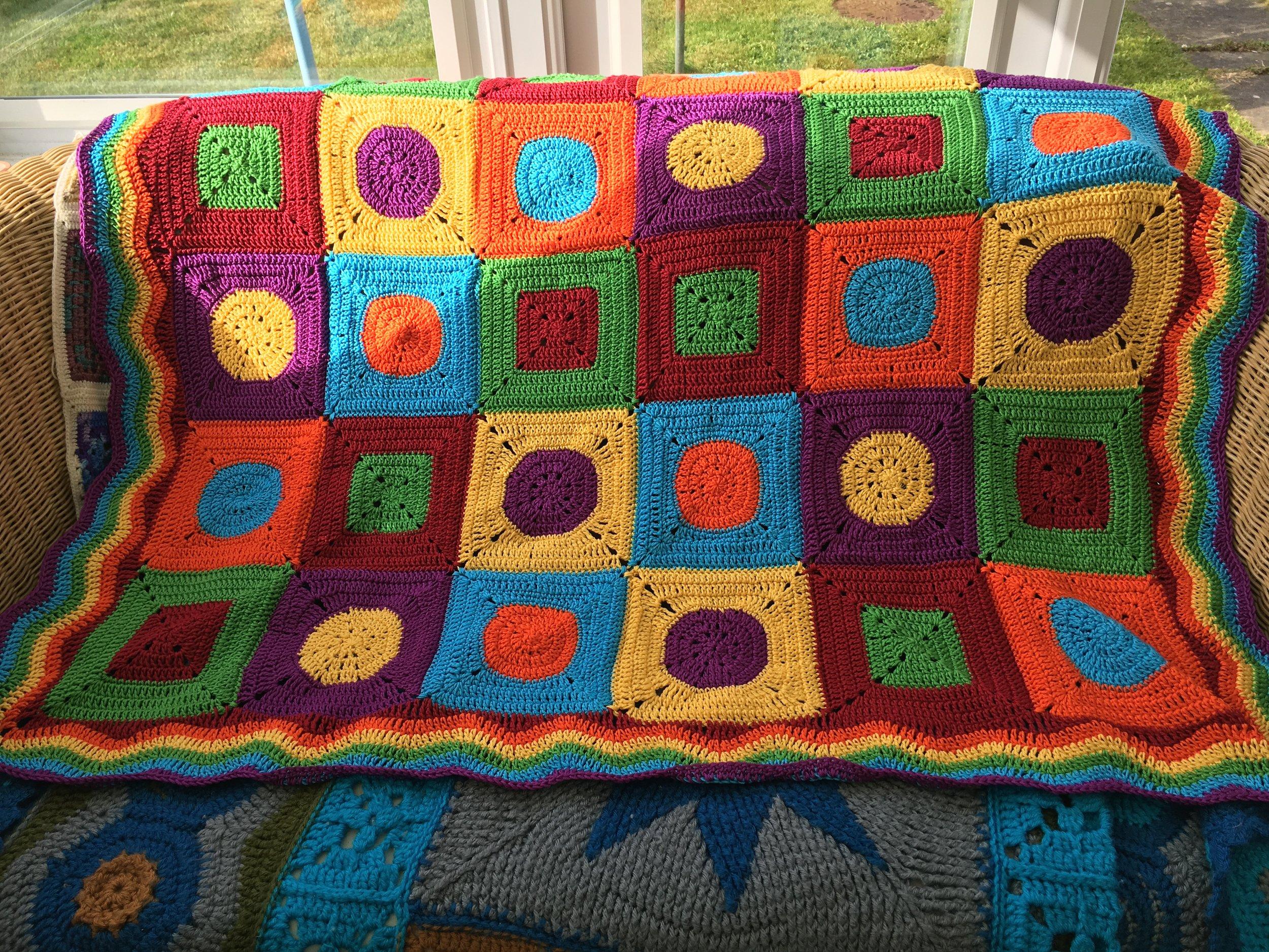 Bright Baby Cotton Blanket