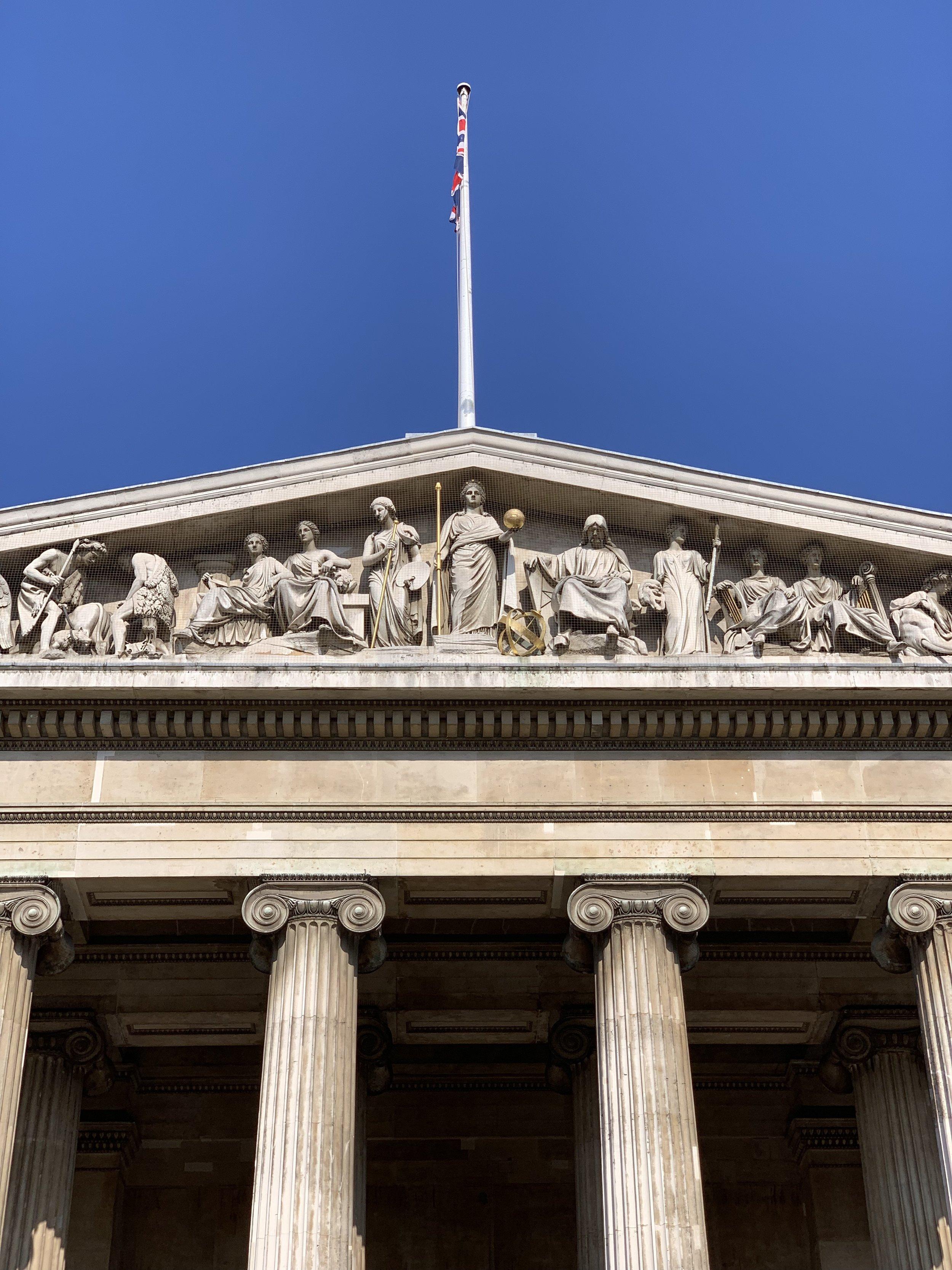 British Museum standing tall