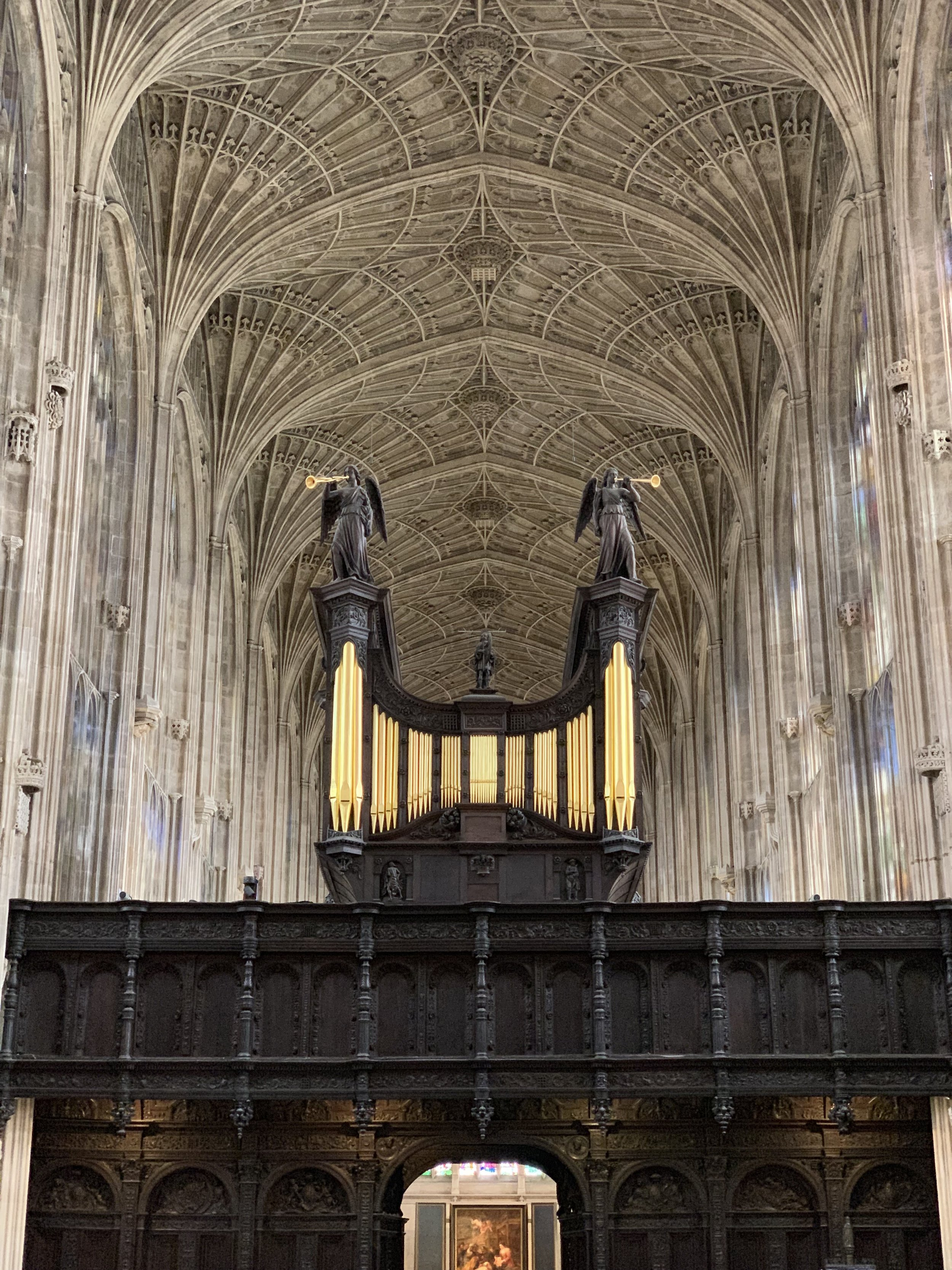 King's College Chapel's Vaulted Ceiling