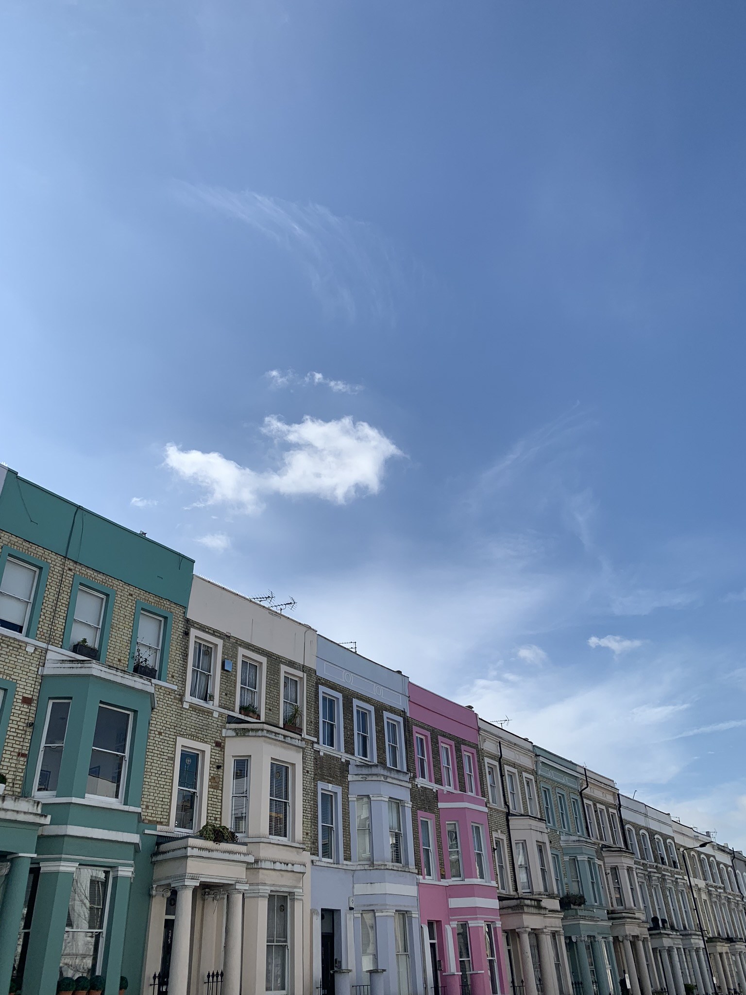 Houses of every colour