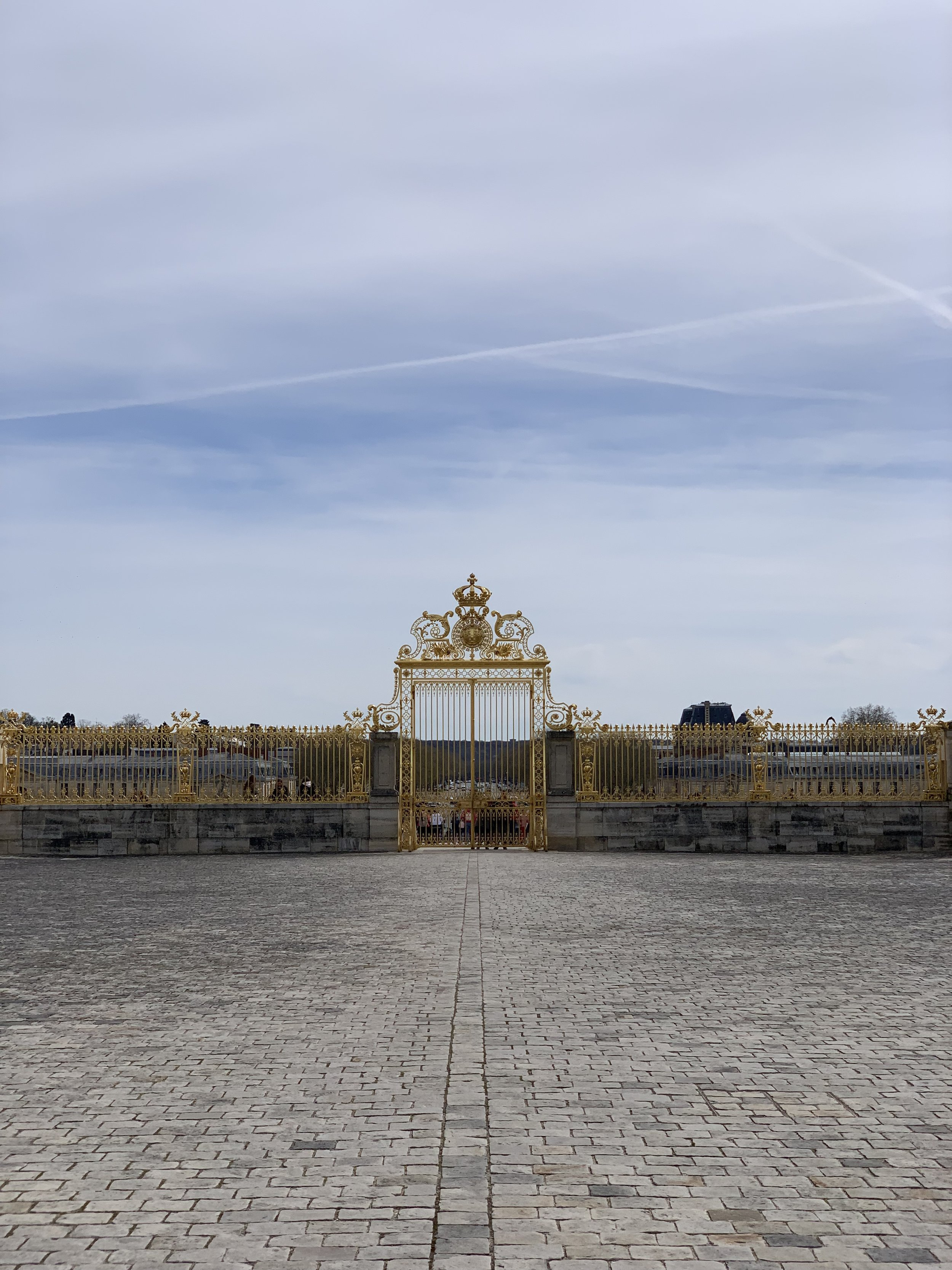 Front Gate at The Palace of Versailles