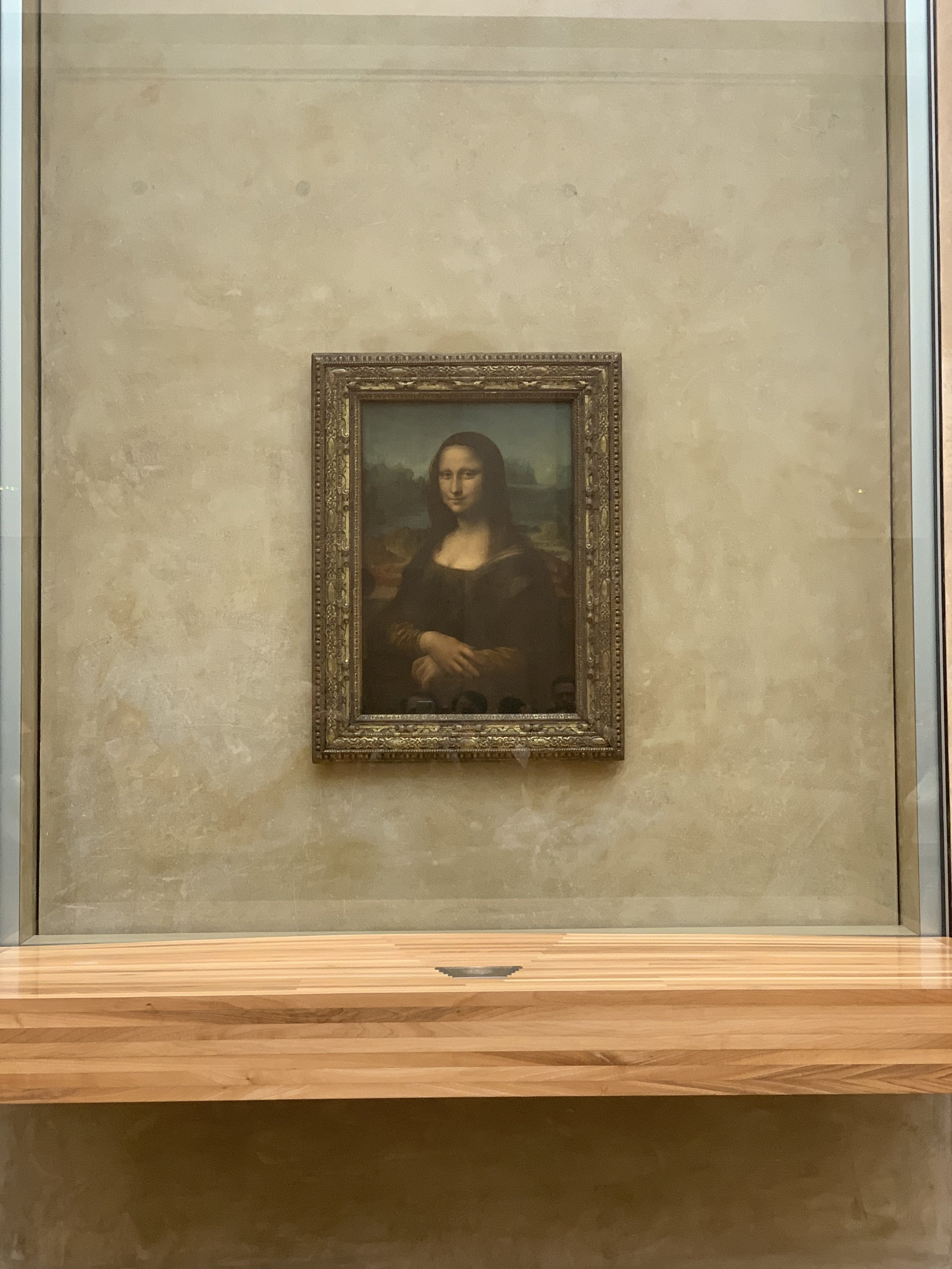 Can't go to the Louvre without seeing Mona