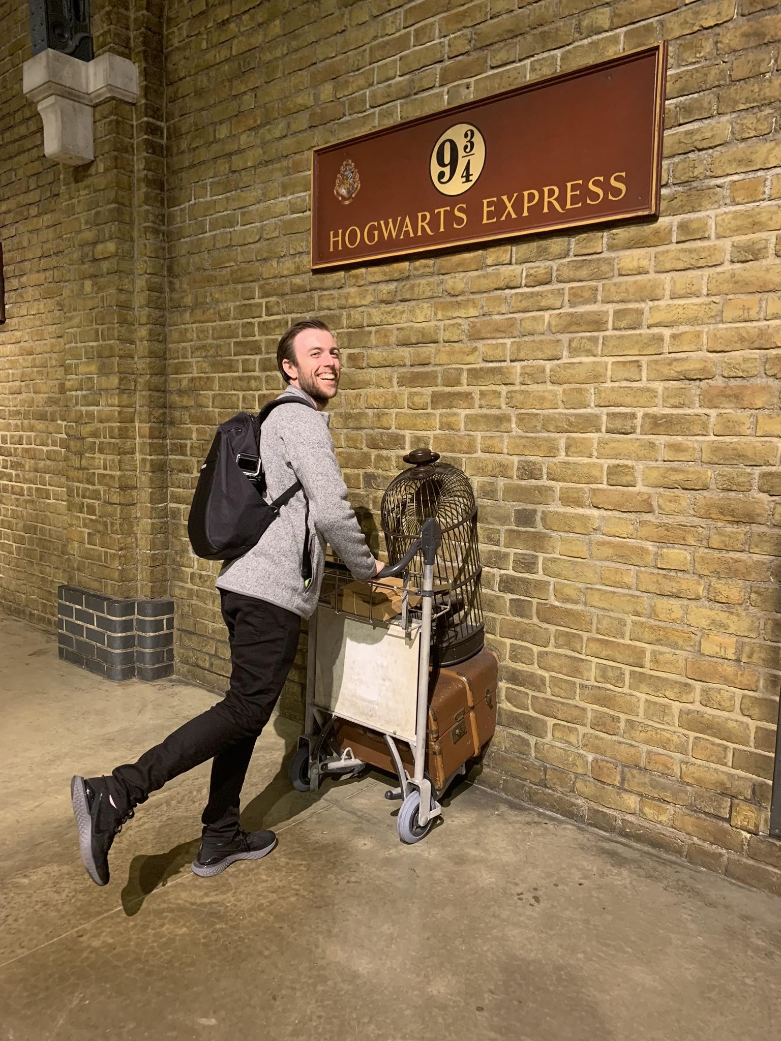 I'm heading to Hogwarts!