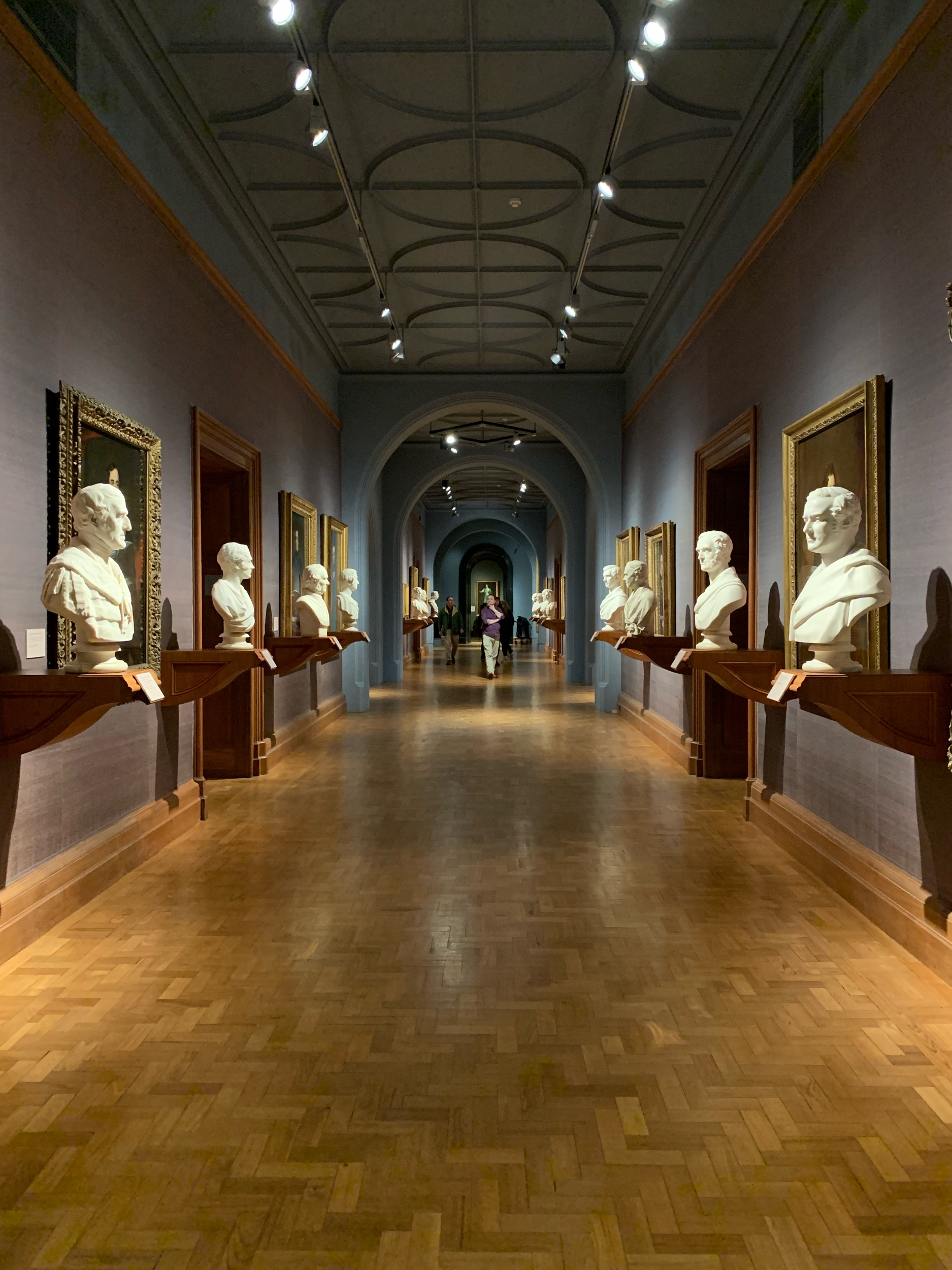 Inside the National Portrait Gallery