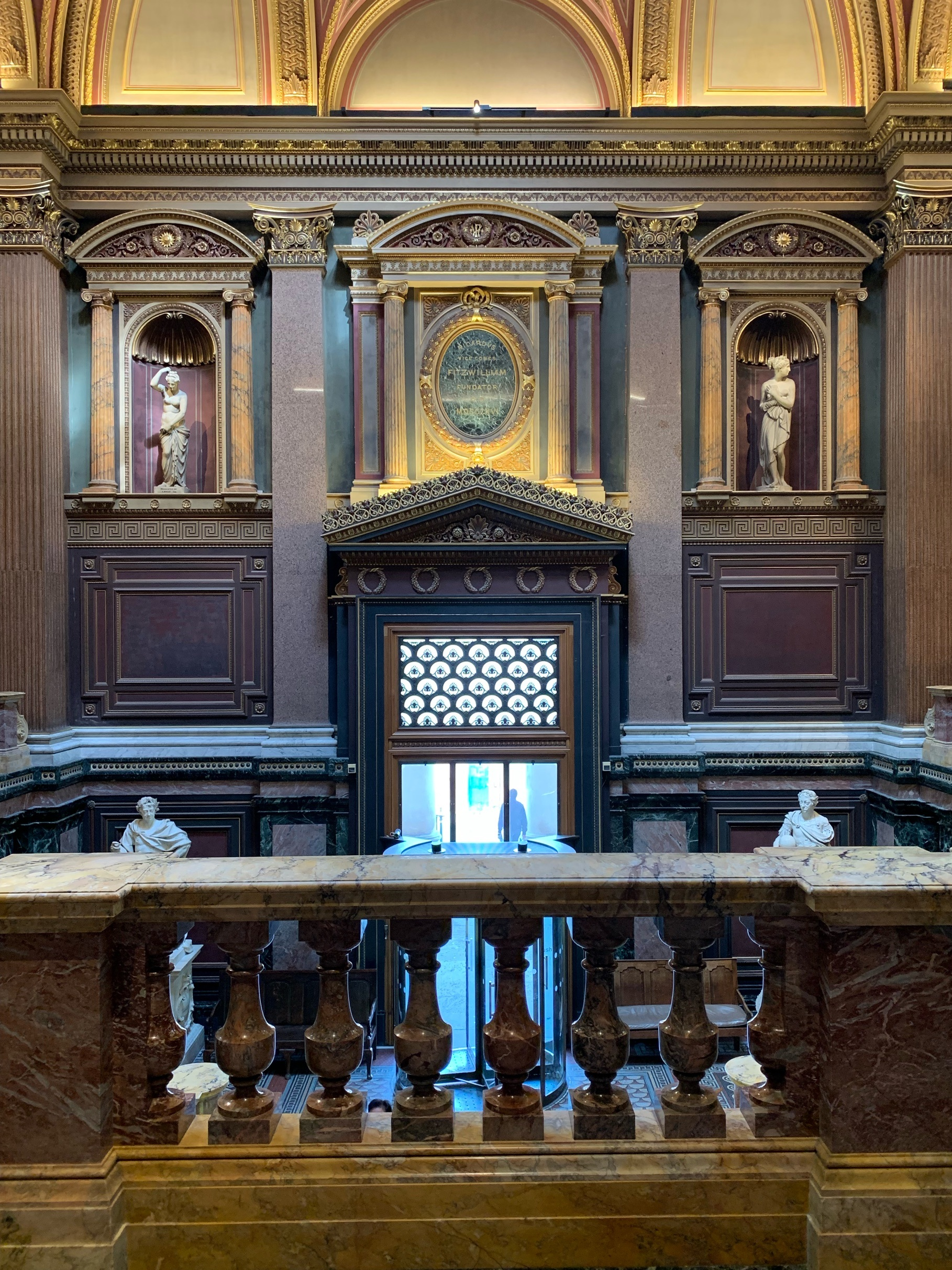 Fitzwilliam Museum entrance hall