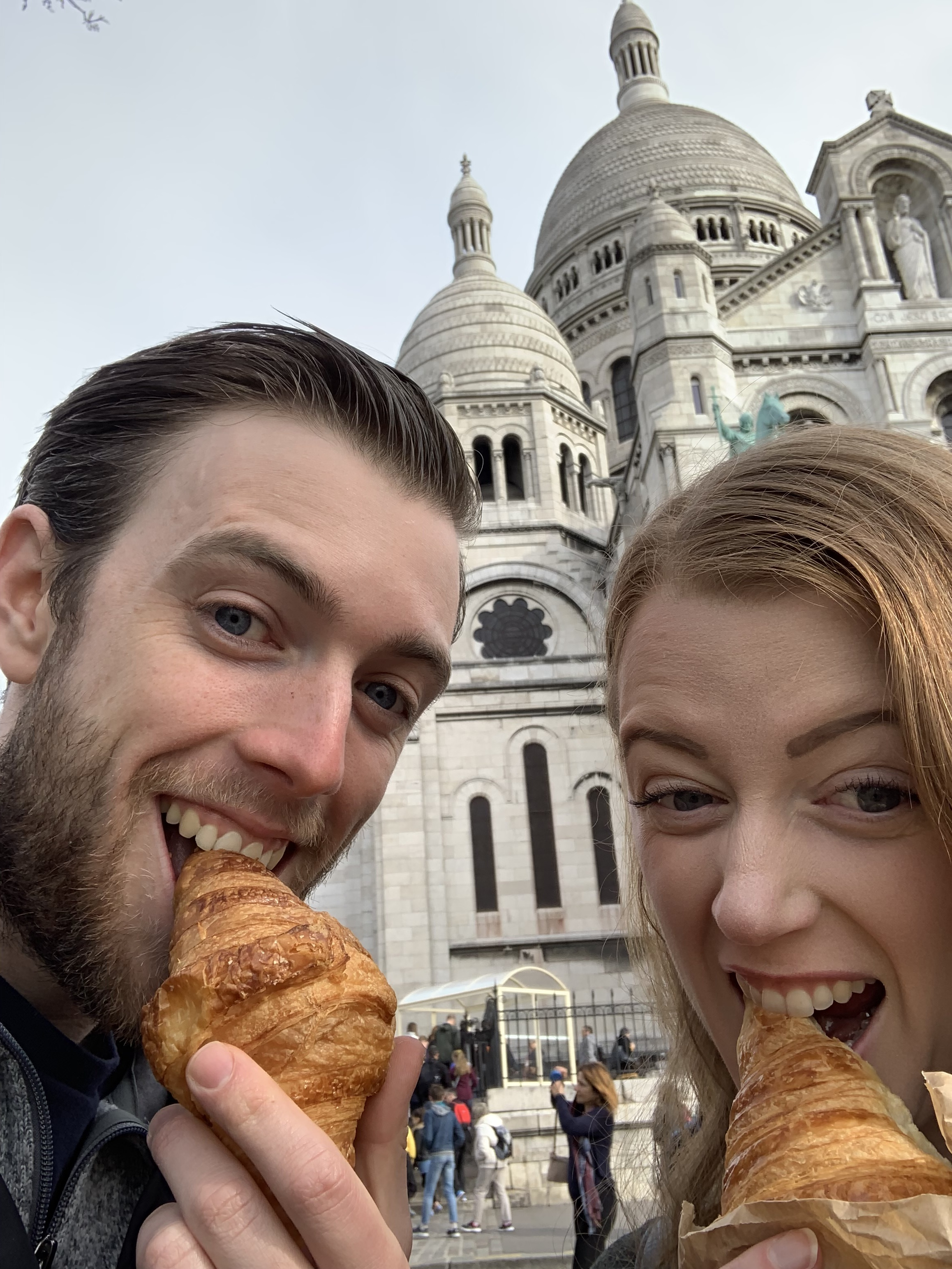 Crazy people and croissants