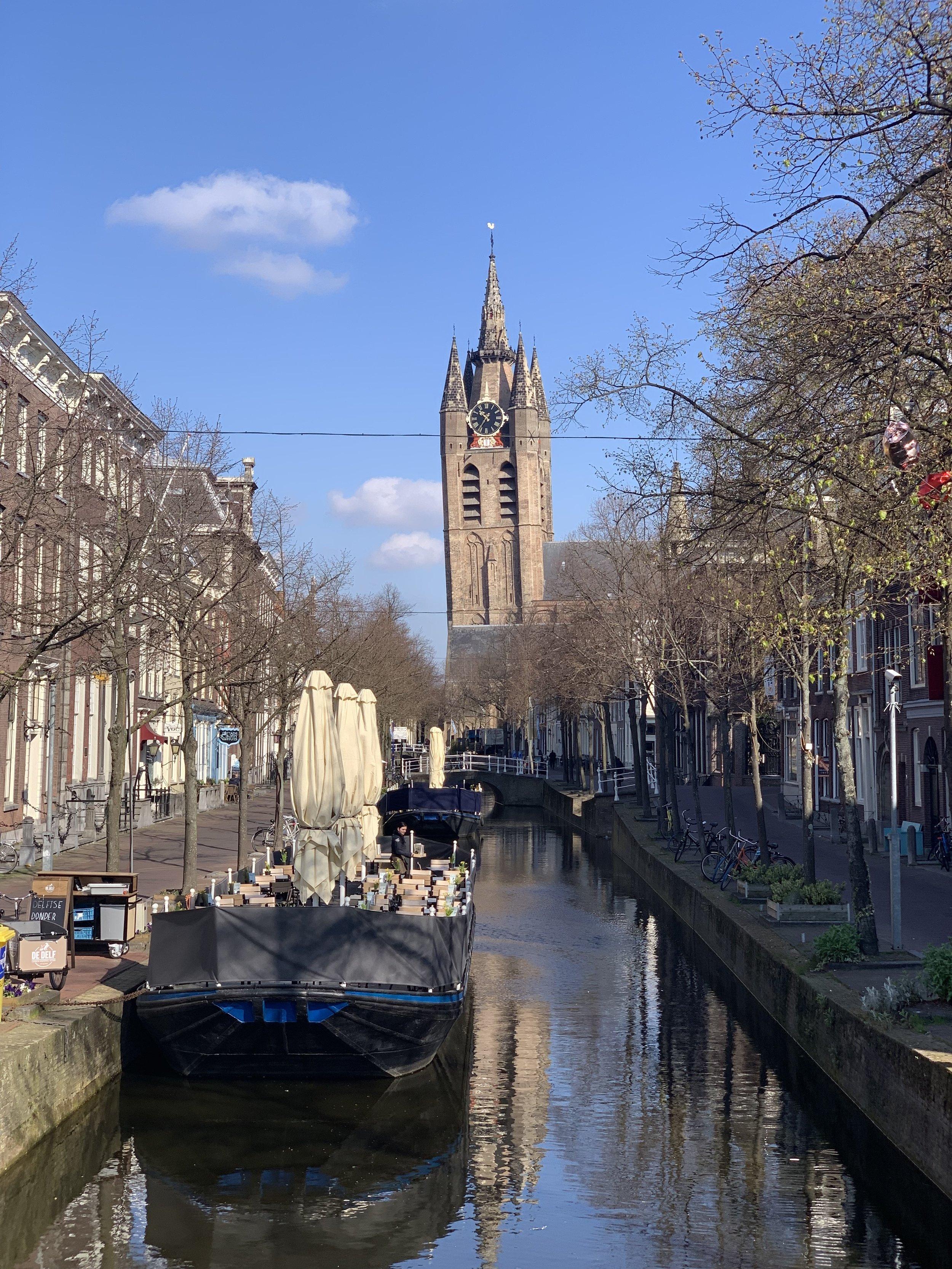 """Old John"" or Oude Kerk"