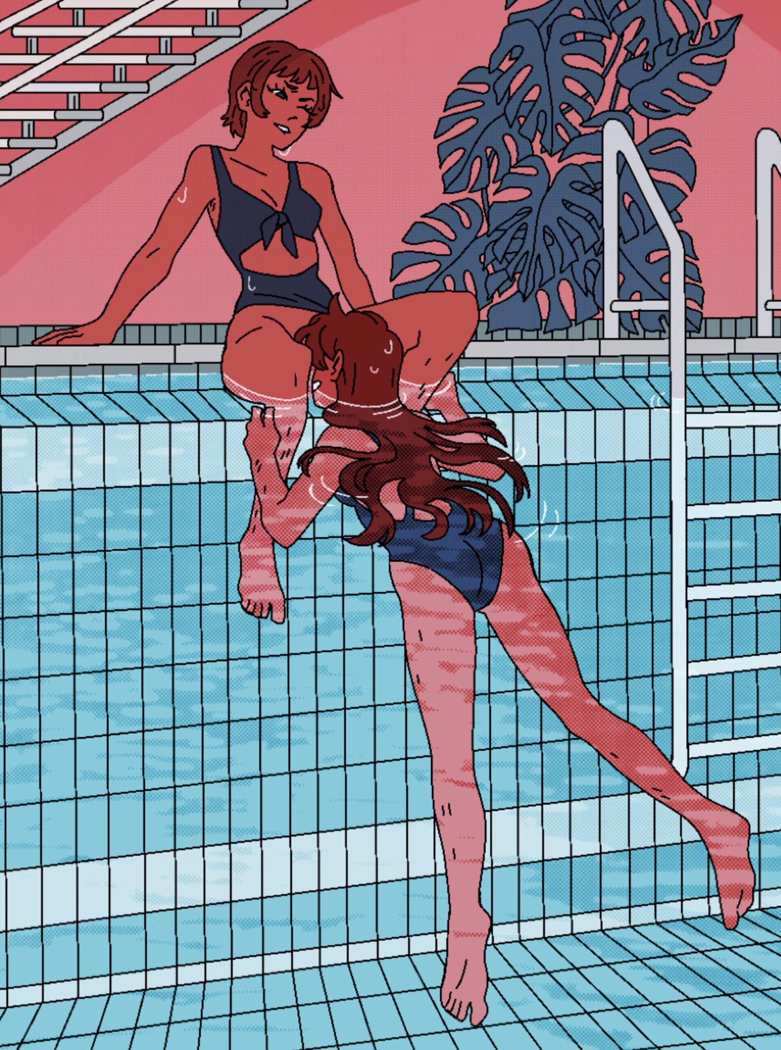 Poolside Romance