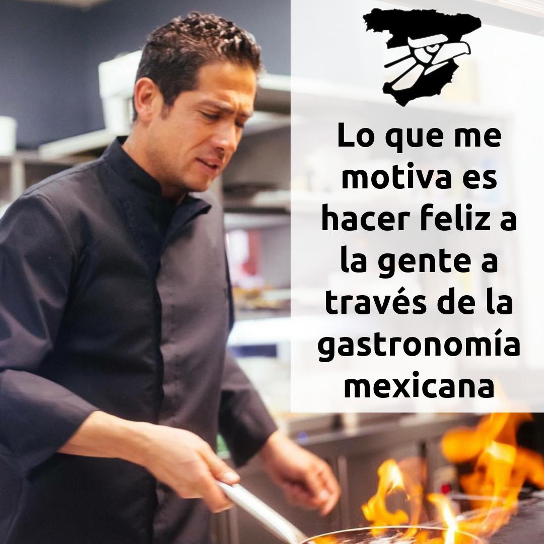 Julio Cesar Valdez , chef, postulante 1er premio Mexicanos Aquí