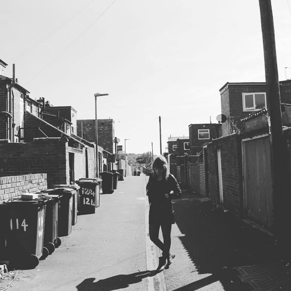 Neil was playing some shows with Morgan in Newcastle and saw this classic English alleyway and took a moody Smiths-Esque photo.