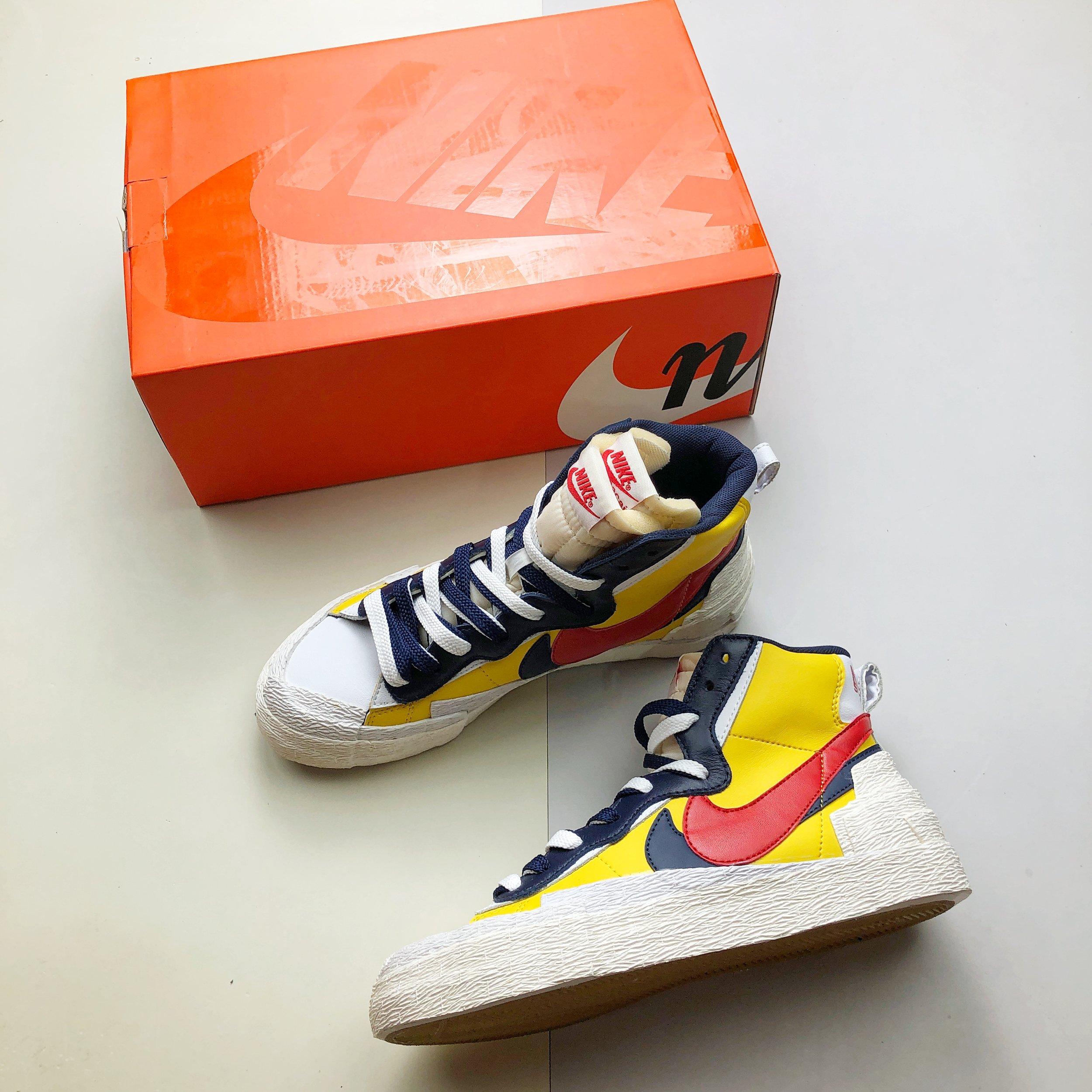 Sacai x Nike Blazer High Snow Beach — DRIPBOI