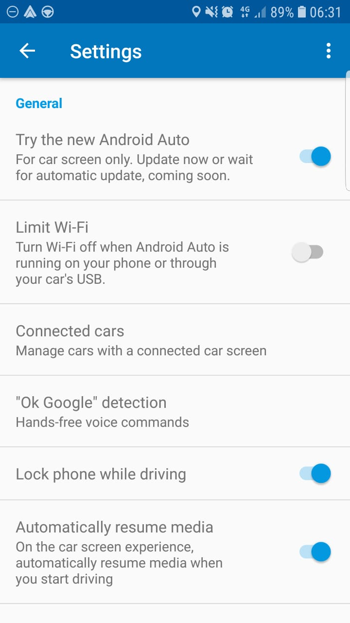 Tech Review Android Auto Samsung