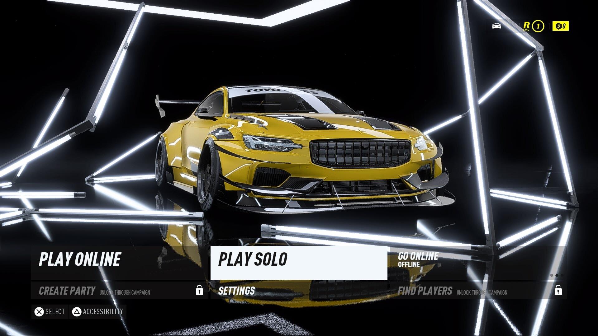 Playstation 4 In-Game Screenshoot
