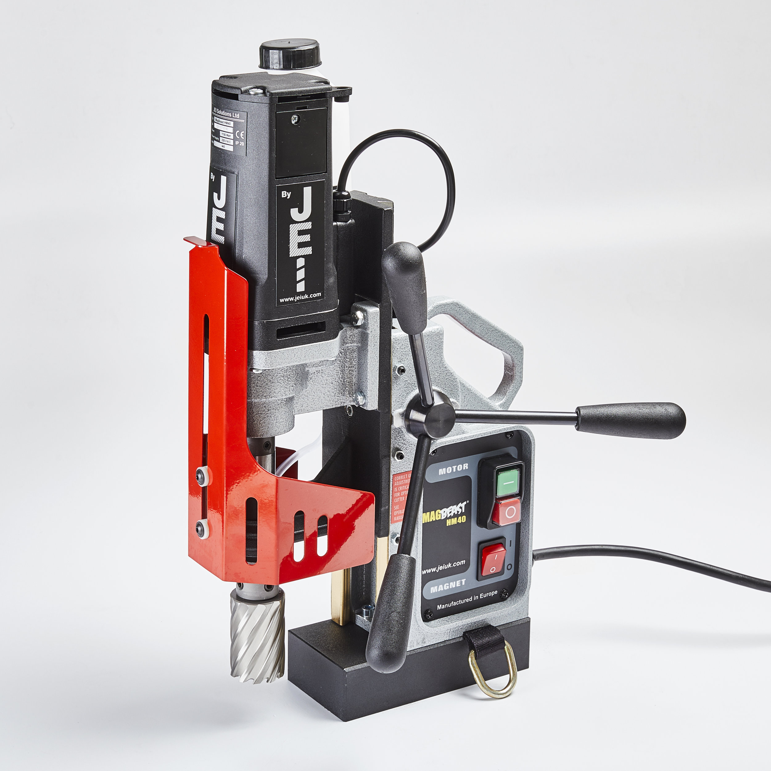 HM40 MAGNETIC DRILL - Powerful 1100 watt motor delivering 40mm cutting capacity.Easily adapts for a 13mm chuck for use on twist drill applications.Only 12.7Kg£450.00 + VAT