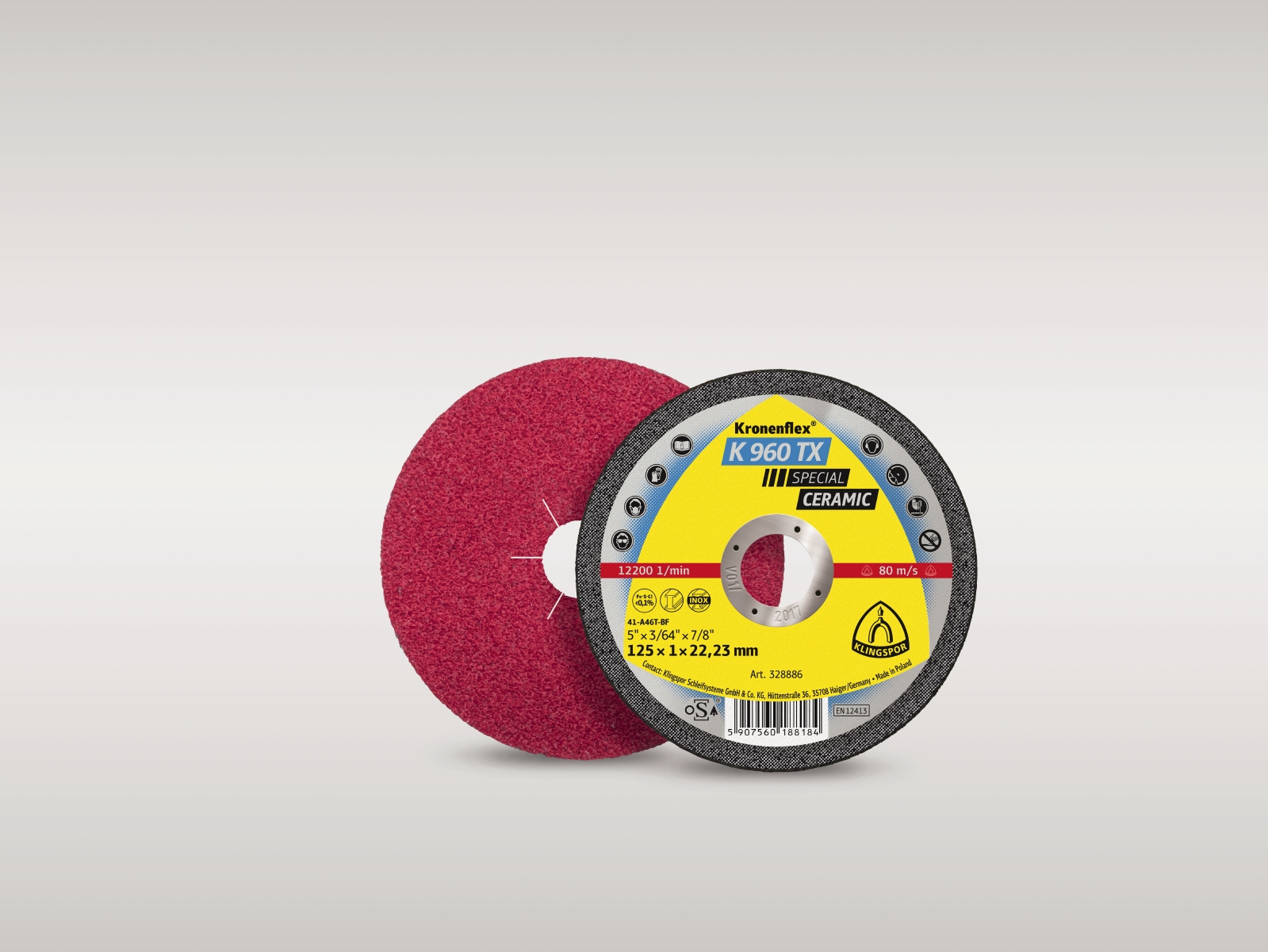 Grinding & cutting discs - Offering the full Klingspor and ATA range of cutting, grinding and sanding discs.