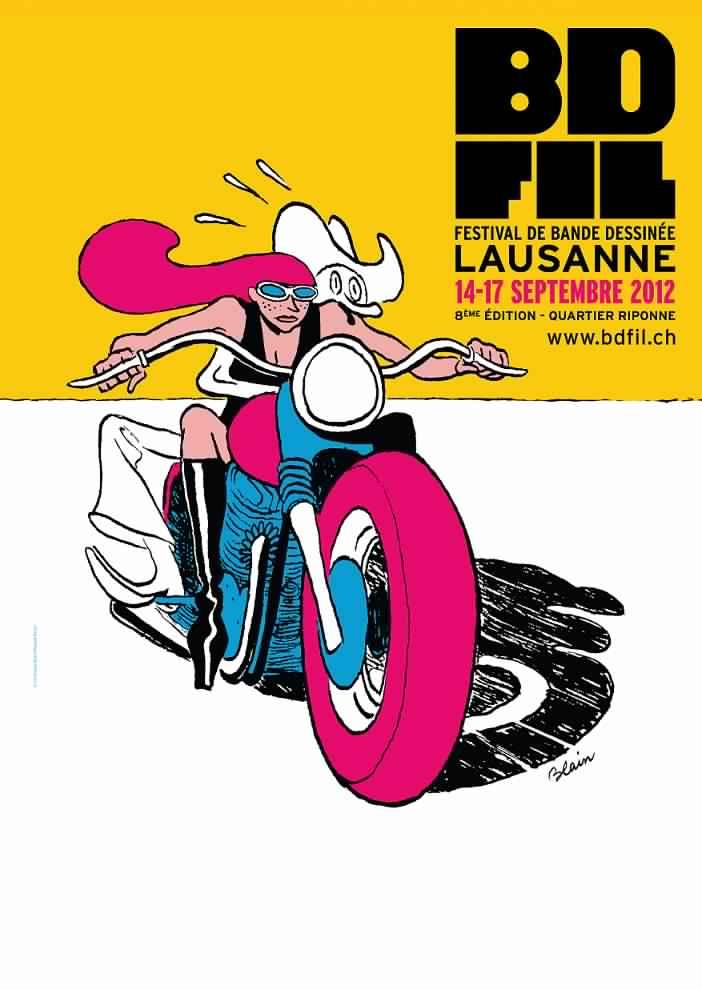 Affiche : BD-FIL 2012 / Blain
