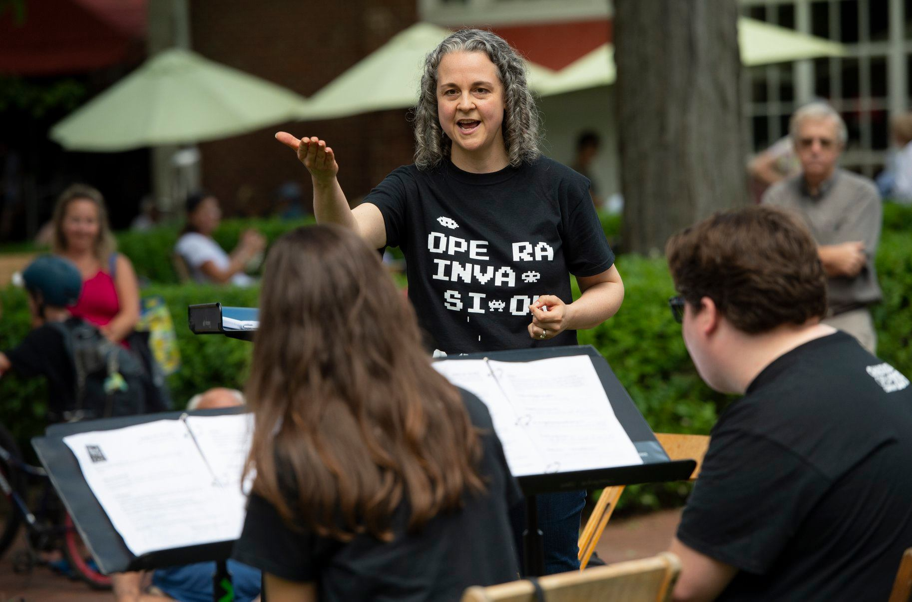2019 Composer-in-Residence Gilda Lyons at the Chautauqua Institution, Chautauqua, NY