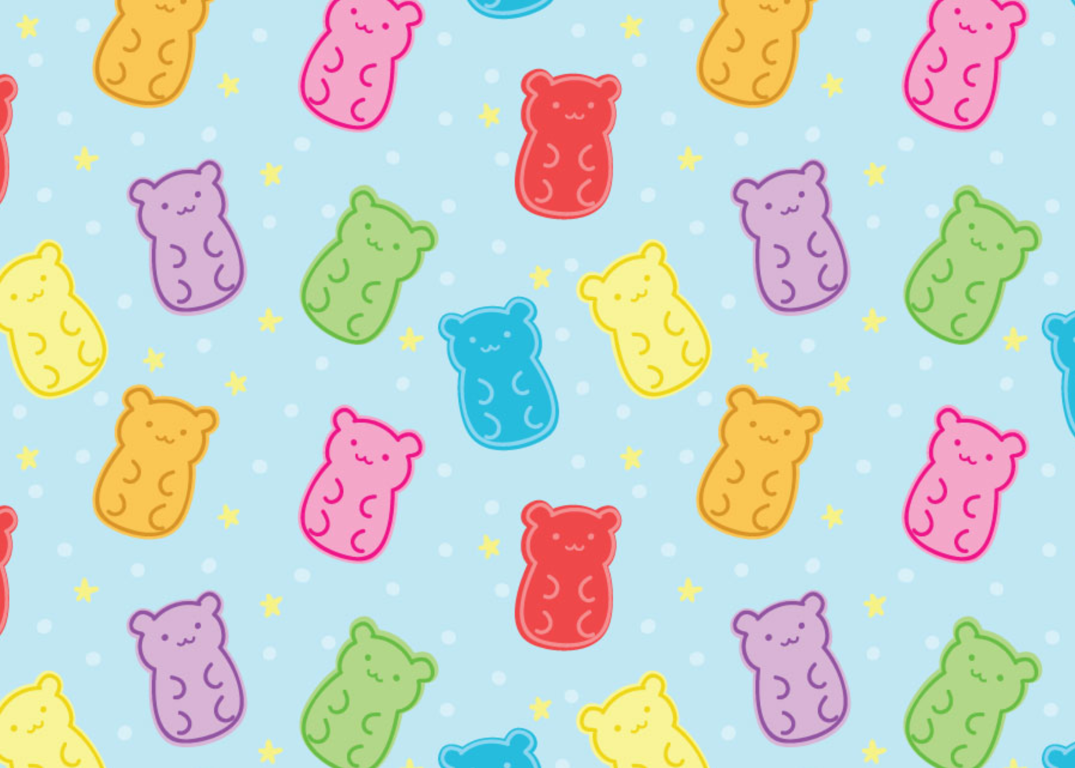 Gummy Bears and Stars