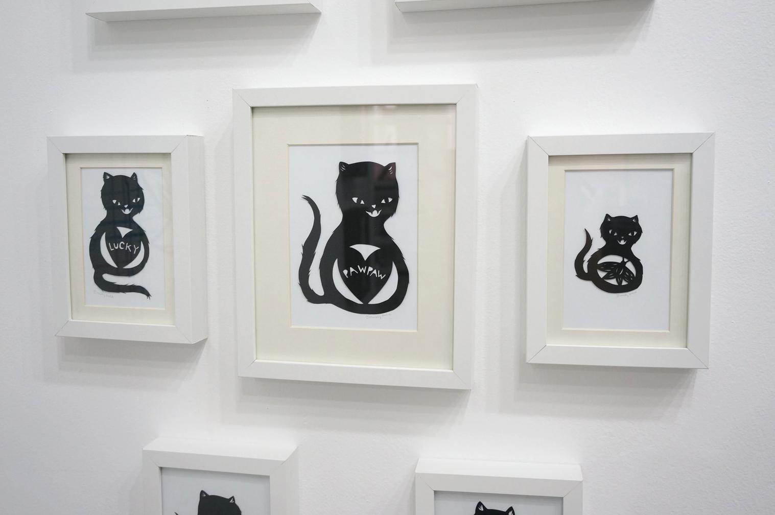 Paper Cut Cats