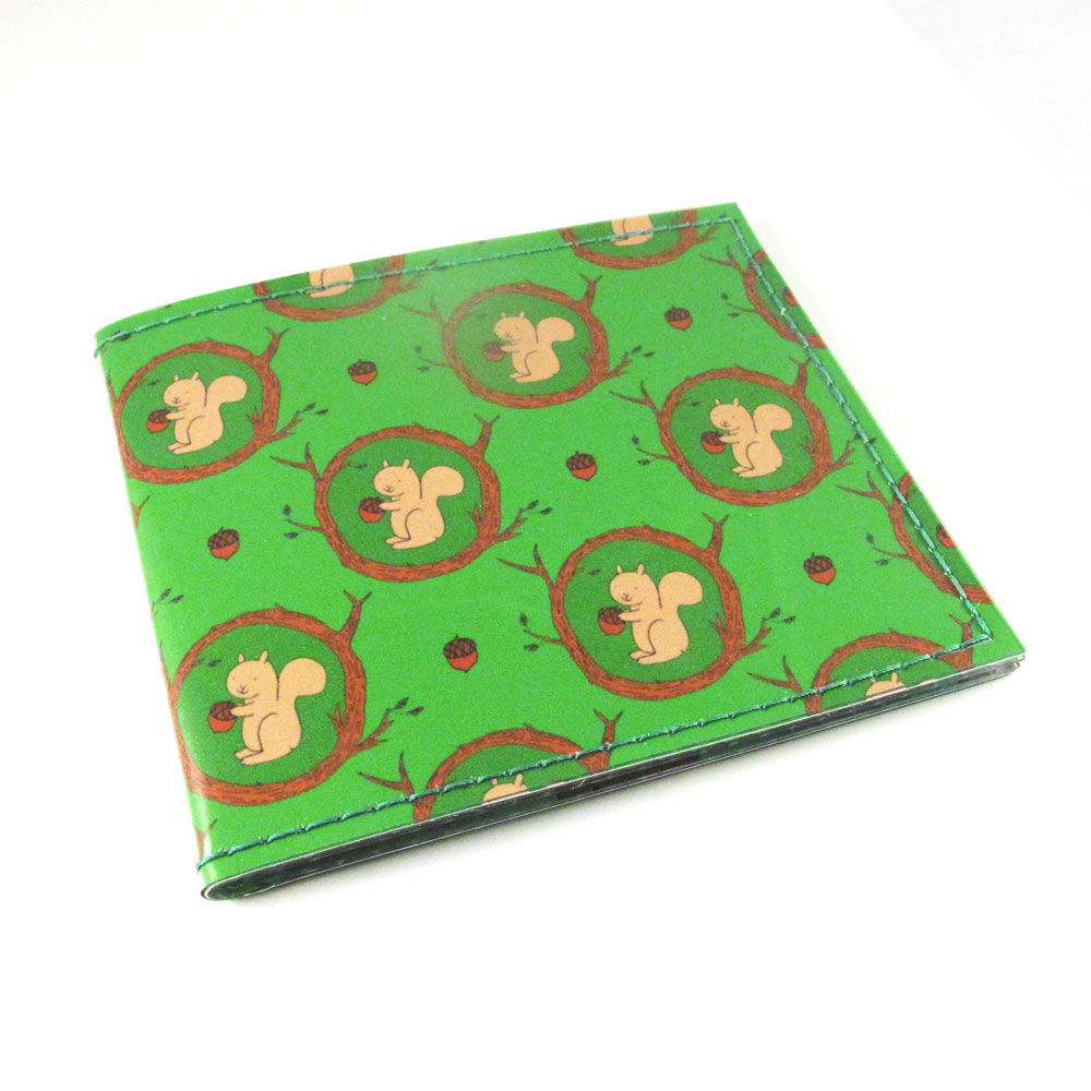 Squirrel Wallet for Tiny Meat