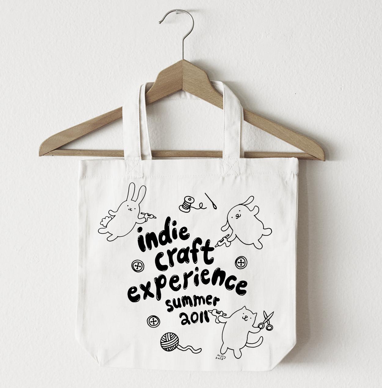 Indie Craft Experience Tote, Spring 2011