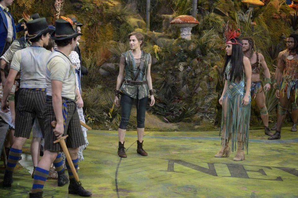 Peter Pan Live - Alanna and Allison.JPG