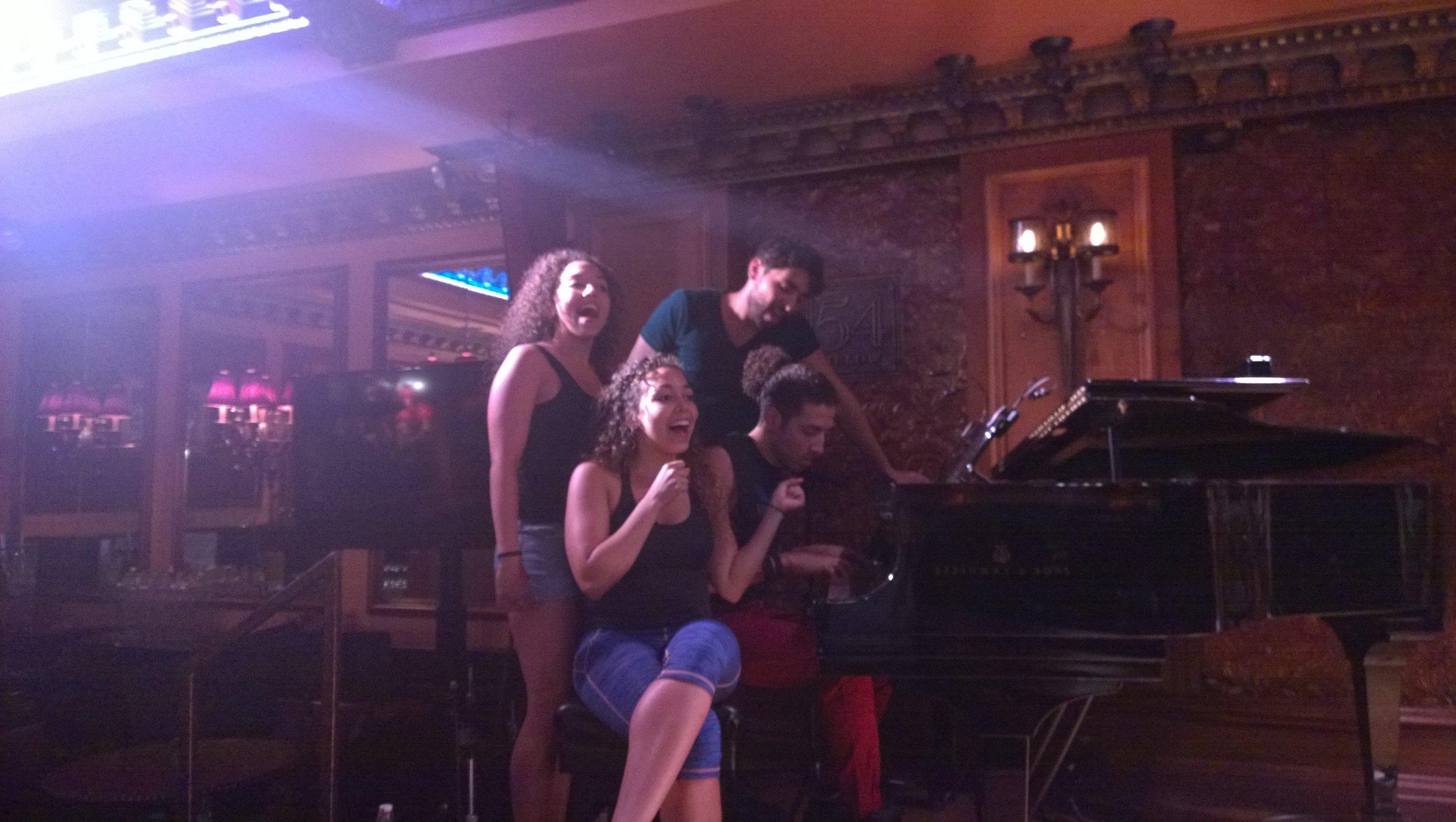 2015 August - Saunders Siblings Cabaret - rehearsal.jpg