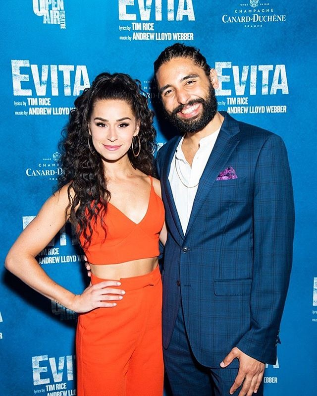 It's been a while, so here's a picture of me and the incomparable Sam Pauly who is GOING TO BROADWAY CAUSE SHES A FREAKING STAR ⭐️ 🌟 💫  Congrats to you bae, can't wait for us to be in the city together! . . . . . . . . . . . #evita #star #six #sixthemusical #shesastar #che #evaandche #evitaperon #eva #katherinehoward #friends #broadway #westend #london #newyork #debut #adventuresofche