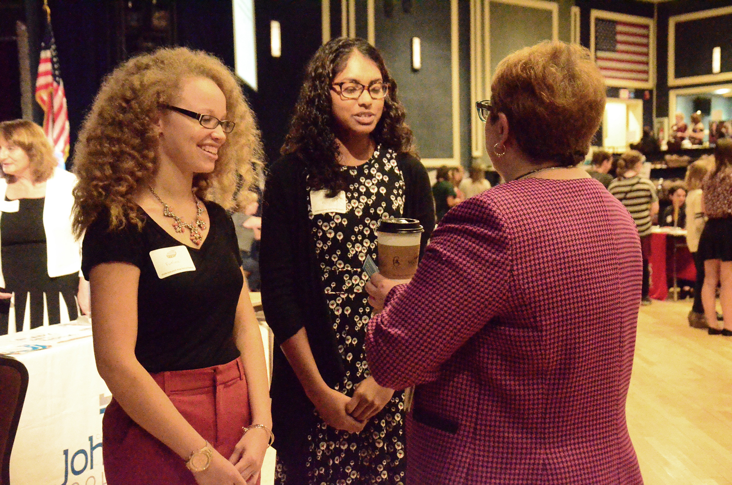 Students Meet State Officials