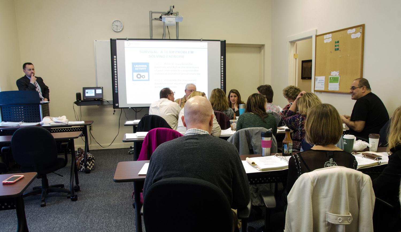 Penn State Leadership Essentials Training at Workforce Alliance in Hawley, PA