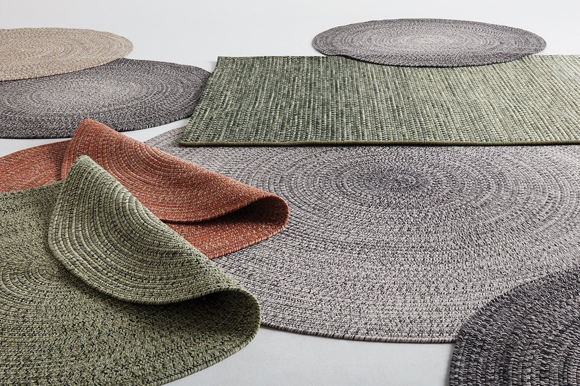 RUGS - Made to endure outdoor use, our rug collection will add comfort and flair to your set.