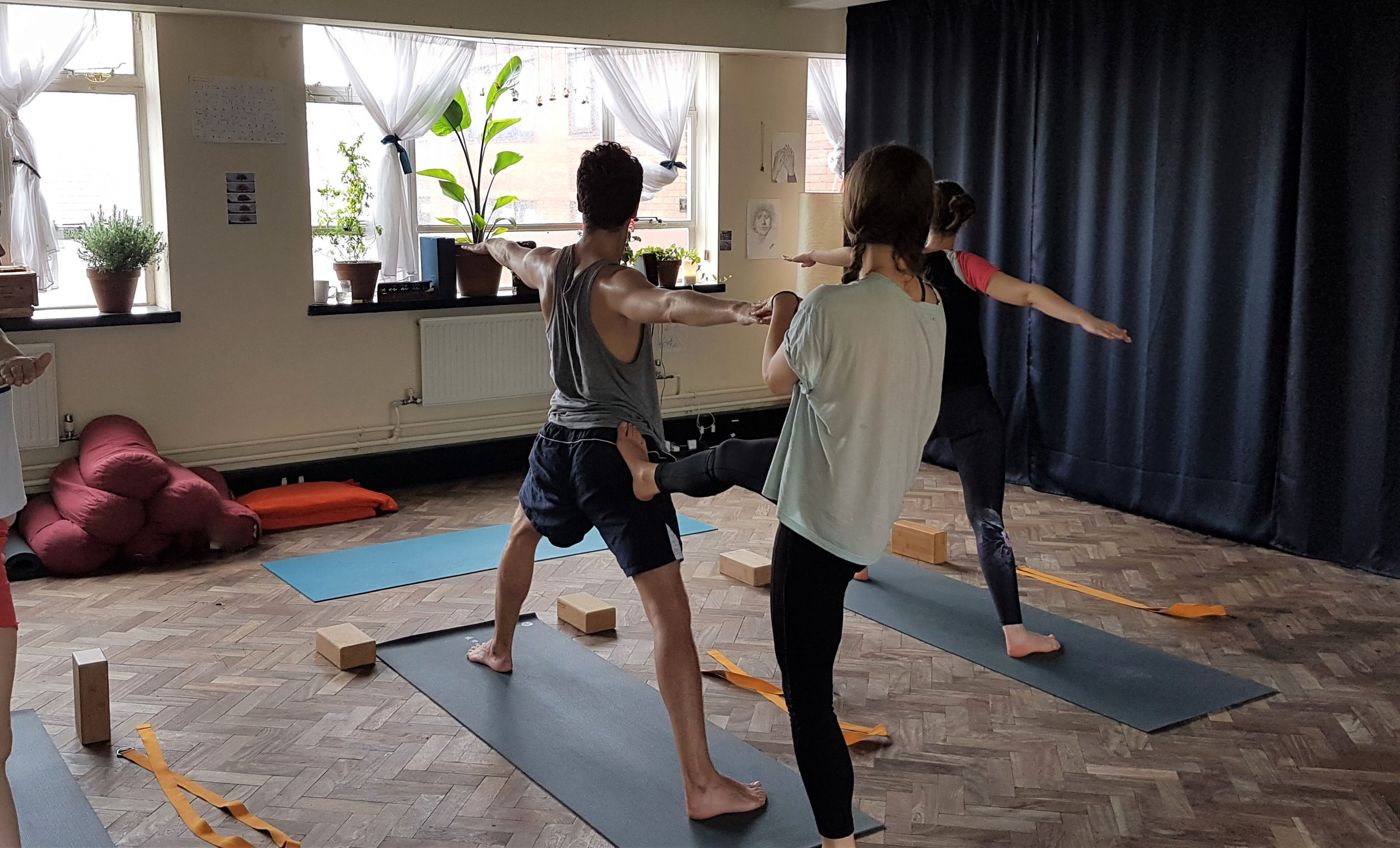 Collective Support - These inclusive, encouraging classes will demystify yogic philosophy and leave you feeling reinvigorated and uplifted.Yoga is for everyone!All you need to do is show up and keep breathing. You'll love it!All levels welcome.