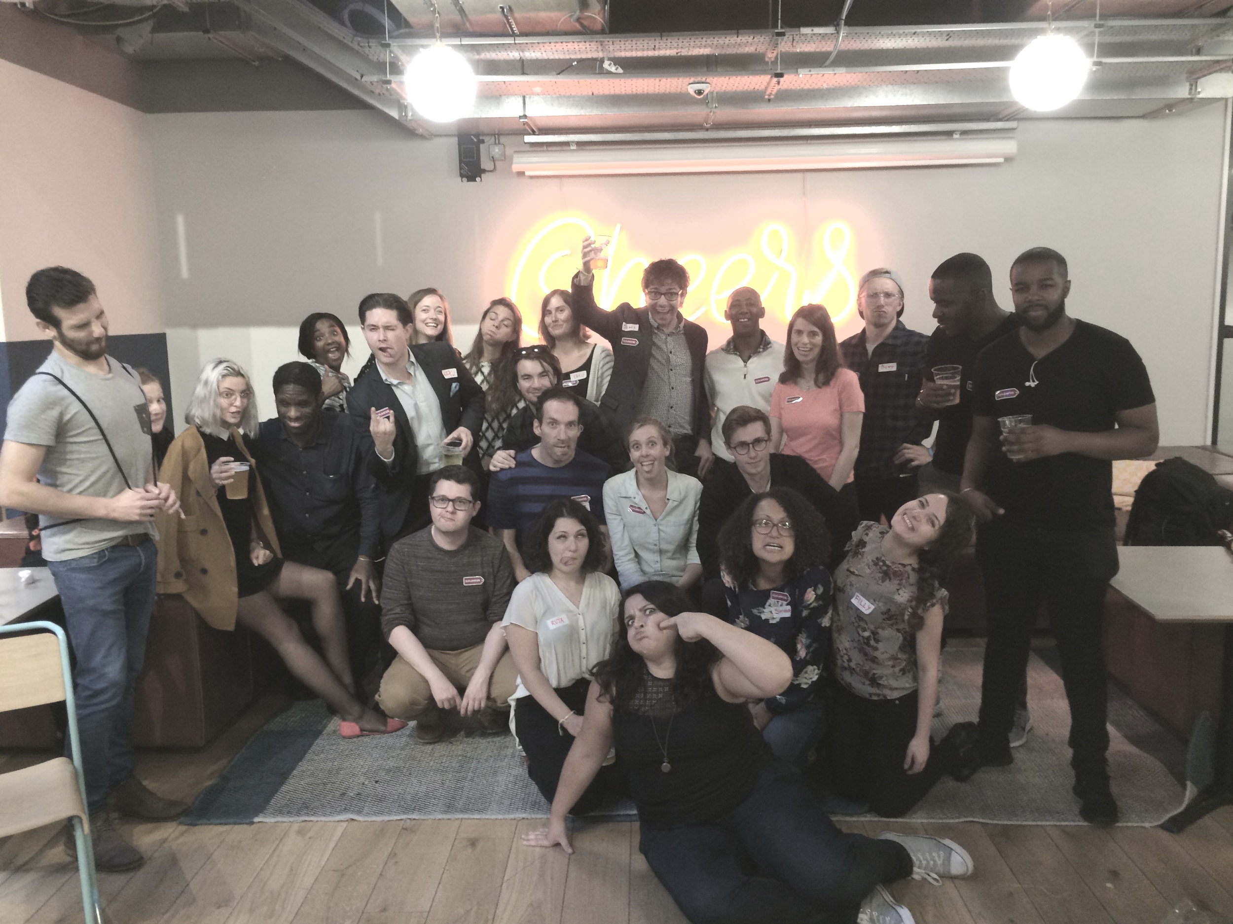 """""""The best teams are diverse in talent, origin and thought. At Flylancer nothing is more important to us than to ensure that our team represents the rainbow of cultures and backgrounds that our community members do."""" - - Emily Elwes, CEO of Flylancer"""
