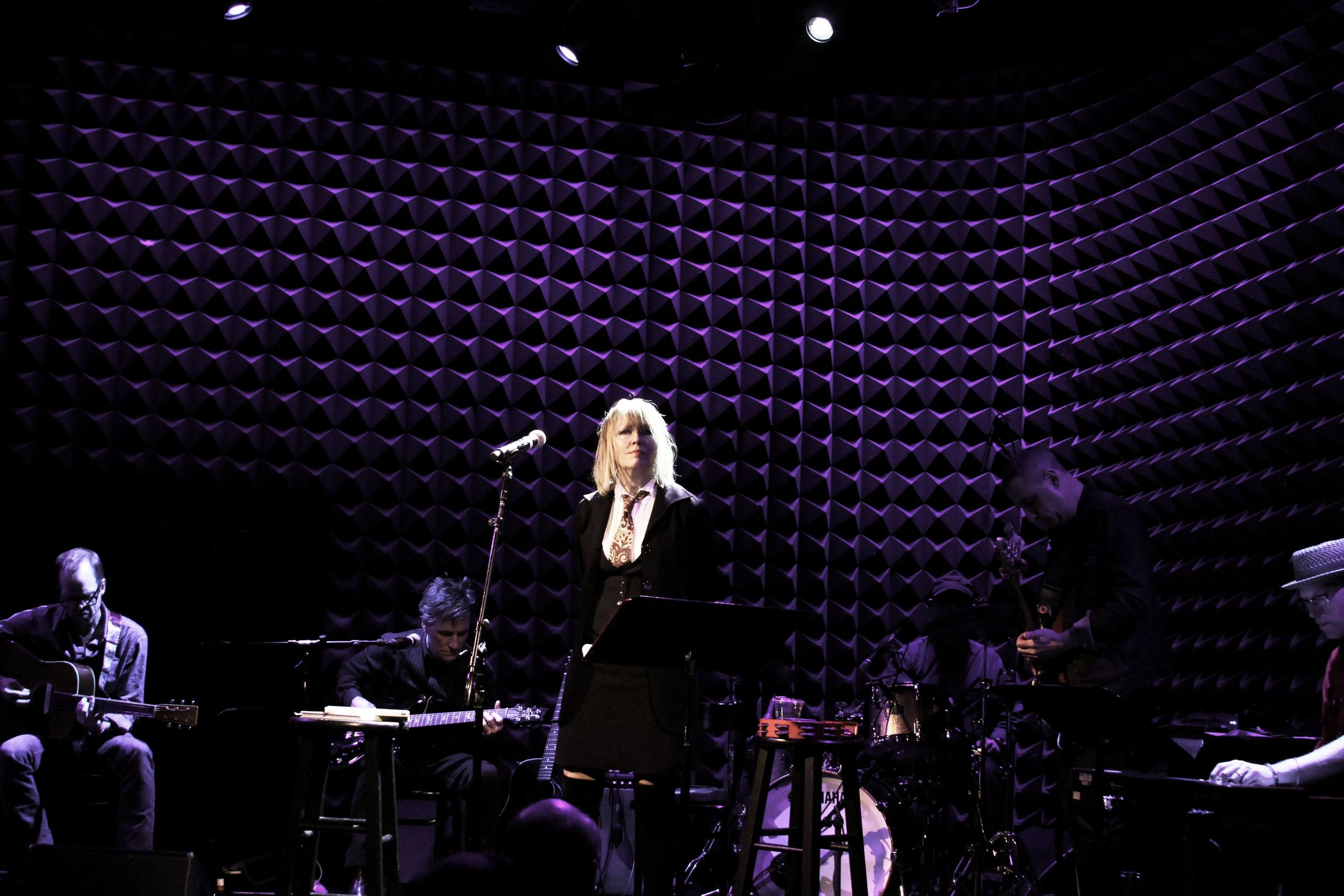 Joe's Pub, 1.24.19. .Photo by Leslie Lyons.