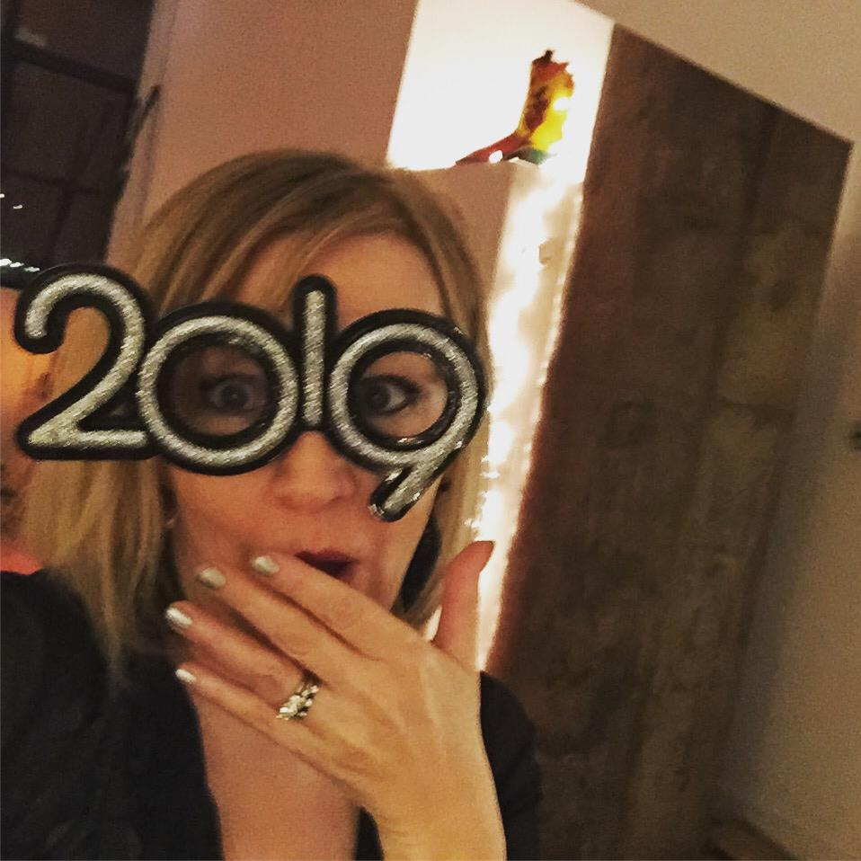 Channeling my inner Elton on New Year's 2019. Can you guess my resolution?