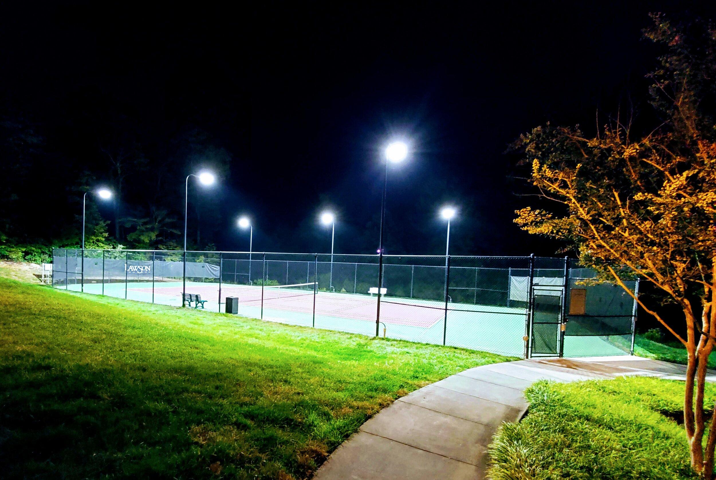 Lawson Tennis Courts (Upper)