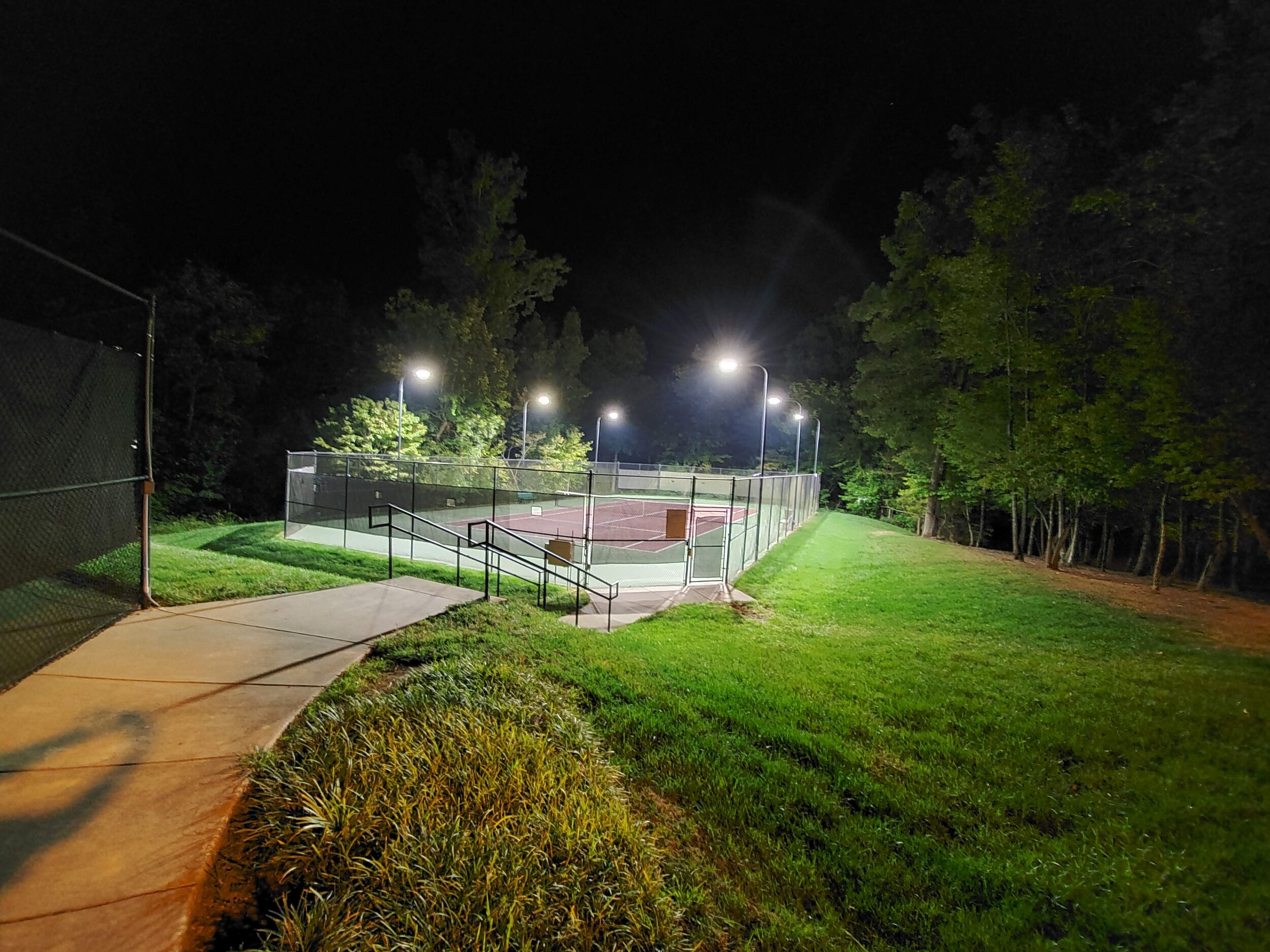 Lawson Tennis Courts (Lower)