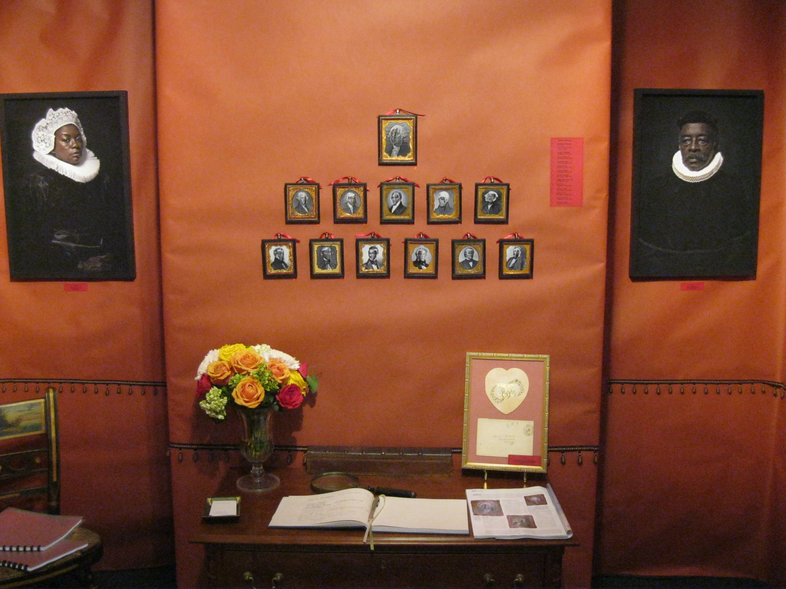 The booth of Elle Shushan