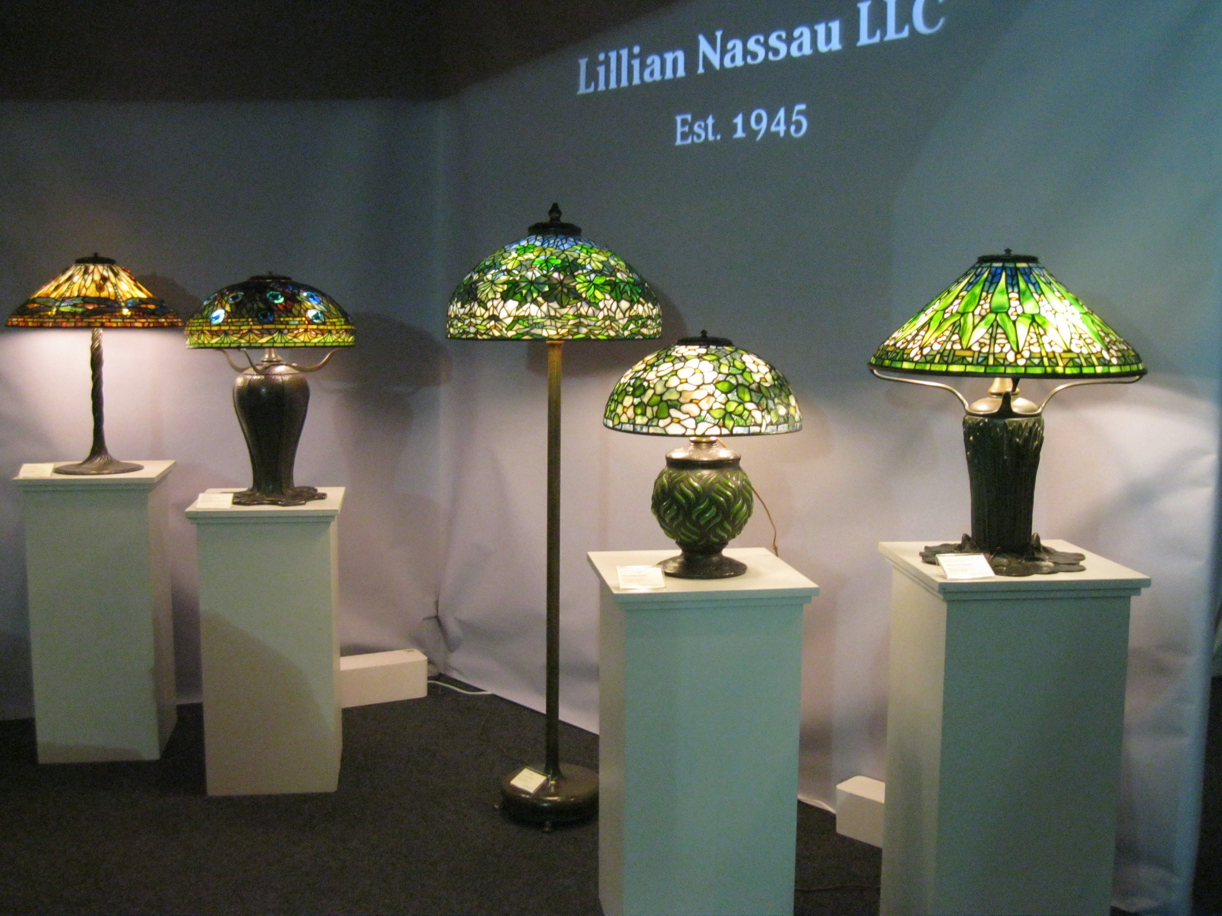 The booth of Lillian Nassau