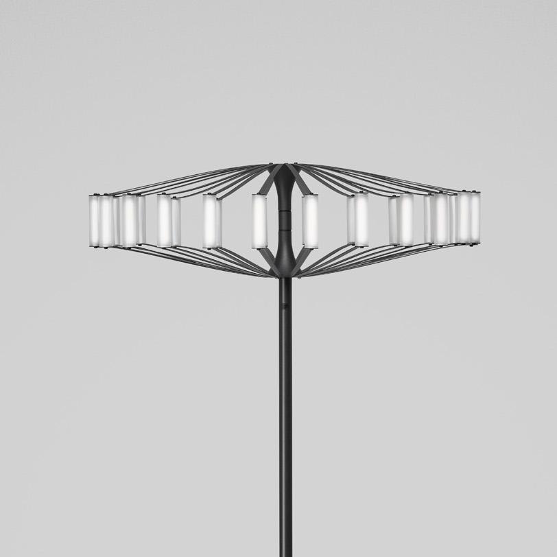 WHEEL FLOOR LAMP -