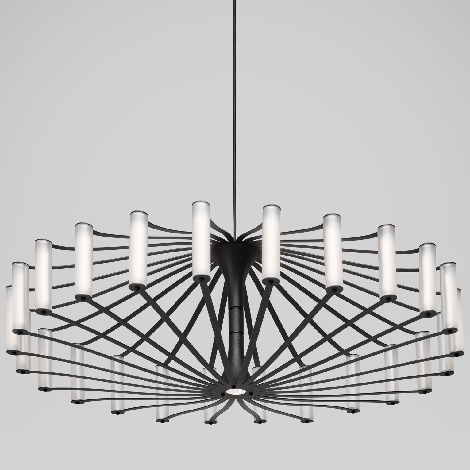 WHEEL SUSPENDED LAMP -